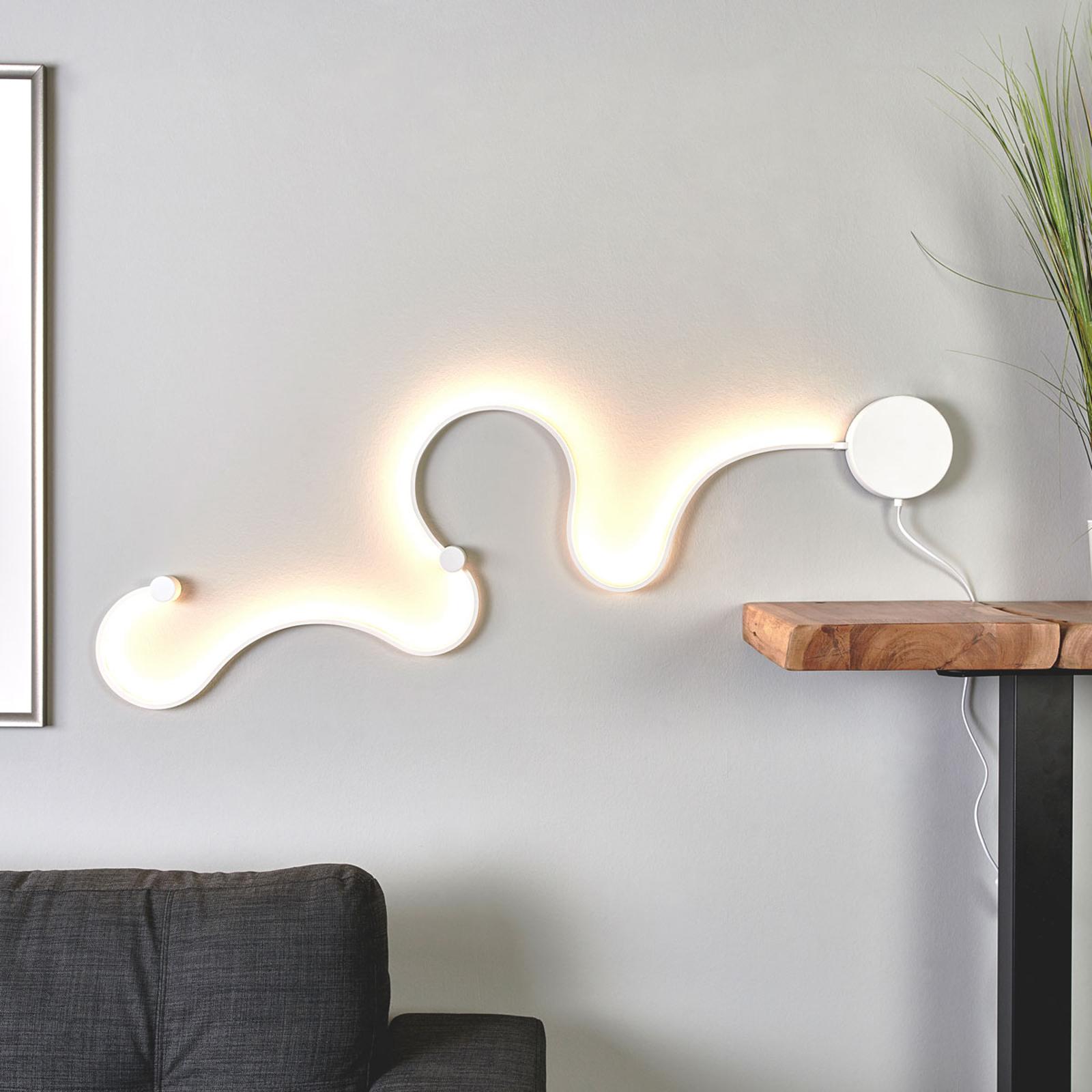 Sandor - lampada LED da parete con luce d'effetto