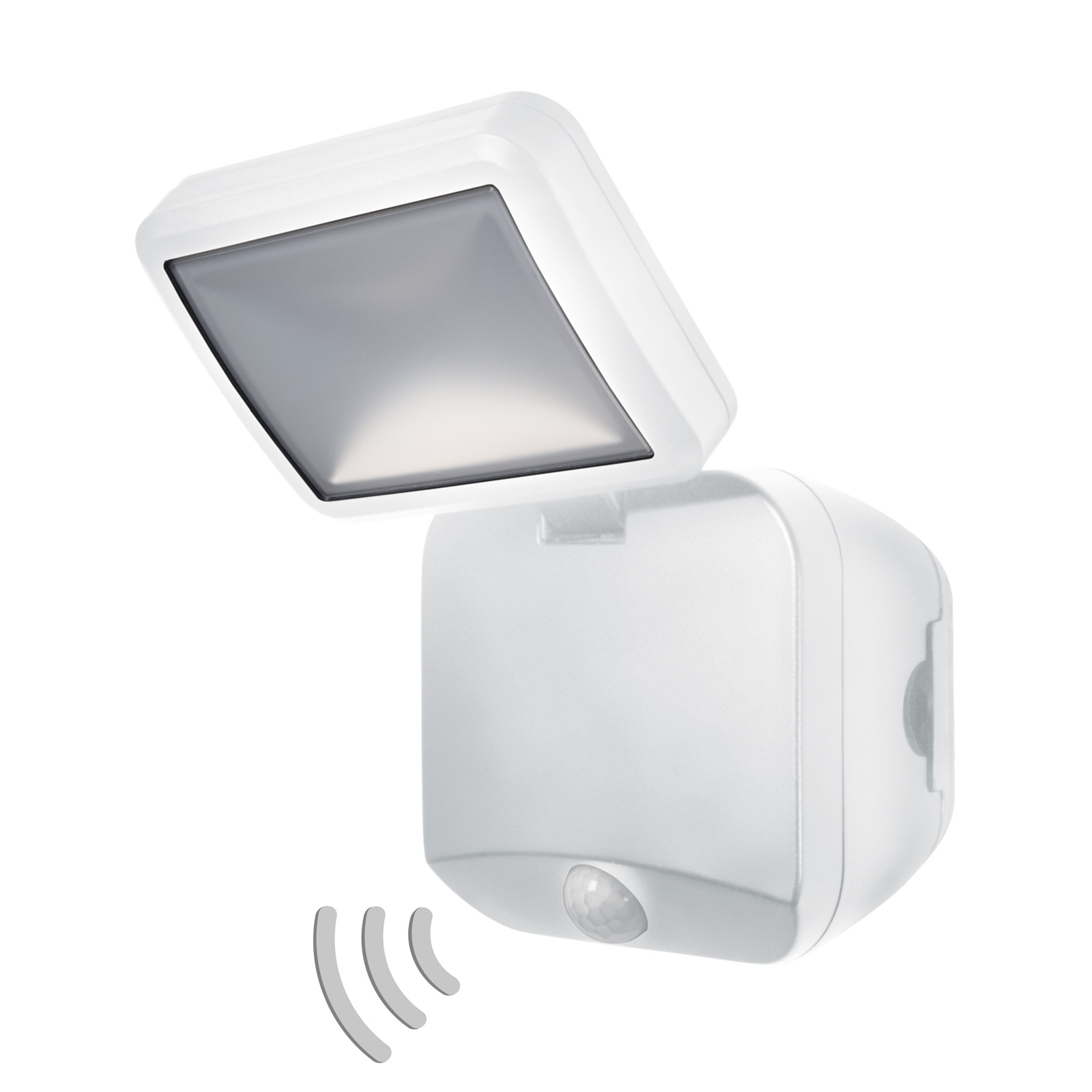 LEDVANCE Battery Spotlight buitenwand 1-lamp wit