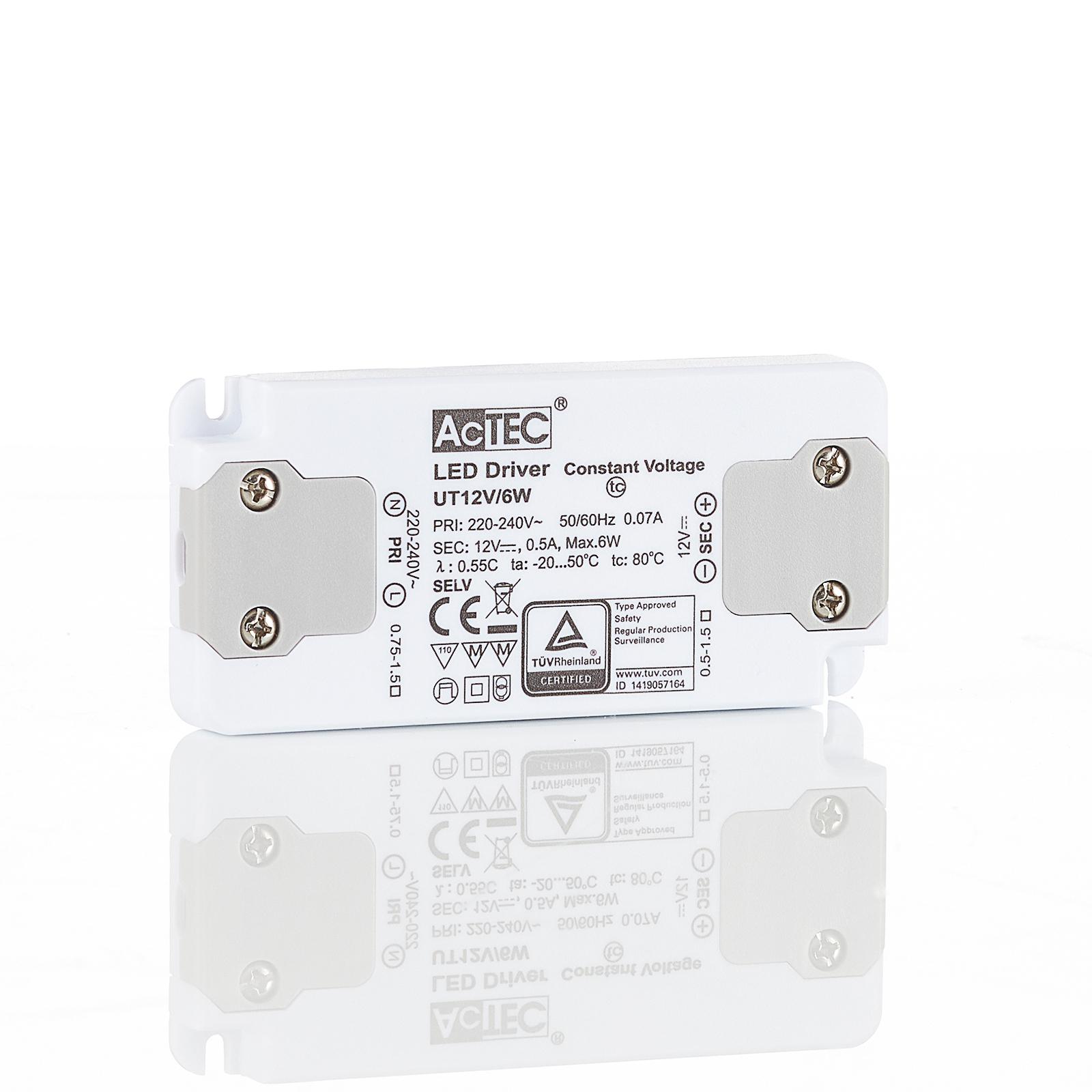 AcTEC Slim LED-driver CV 12 V, 6 W