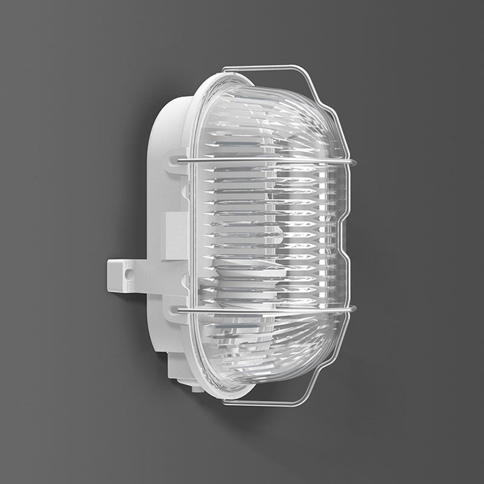 RZB Standard Wandleuchte E27, Kunststoff oval IP44