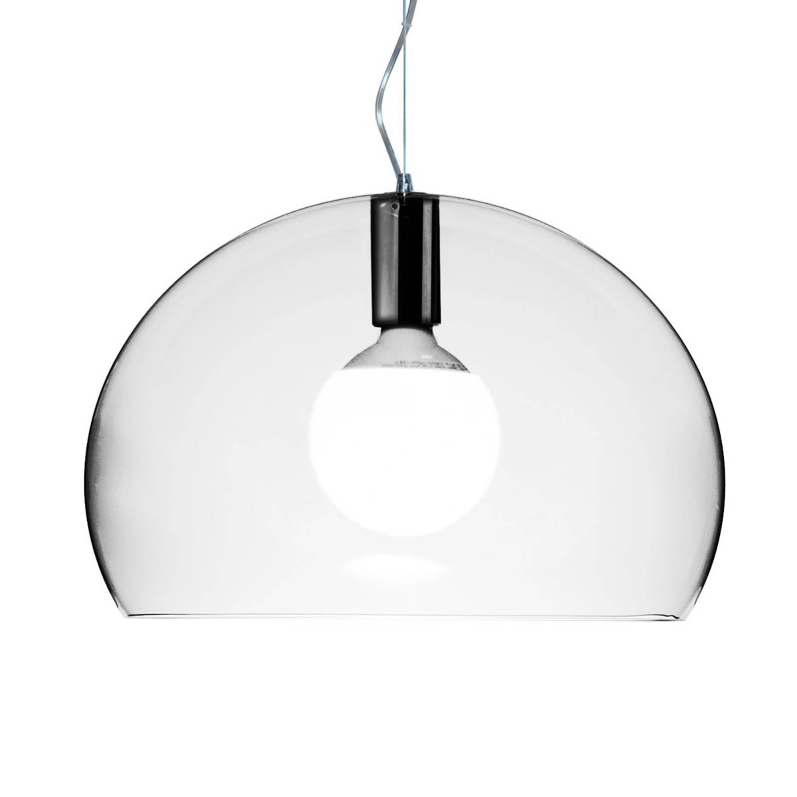 Kartell Small FL/Y LED-Hängeleuchte transparent