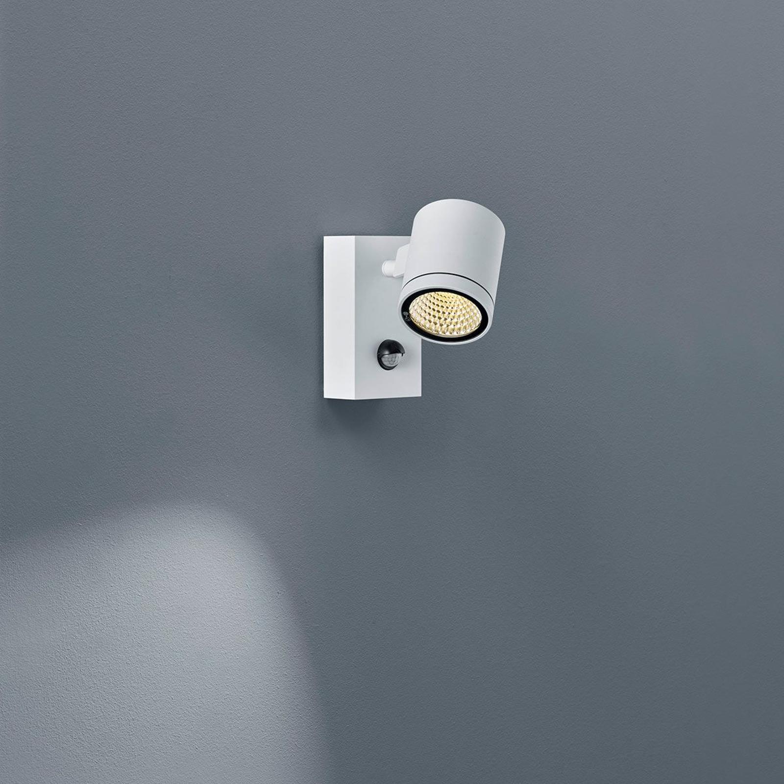 LED-veggspot Part med bevegelsessensor, hvit