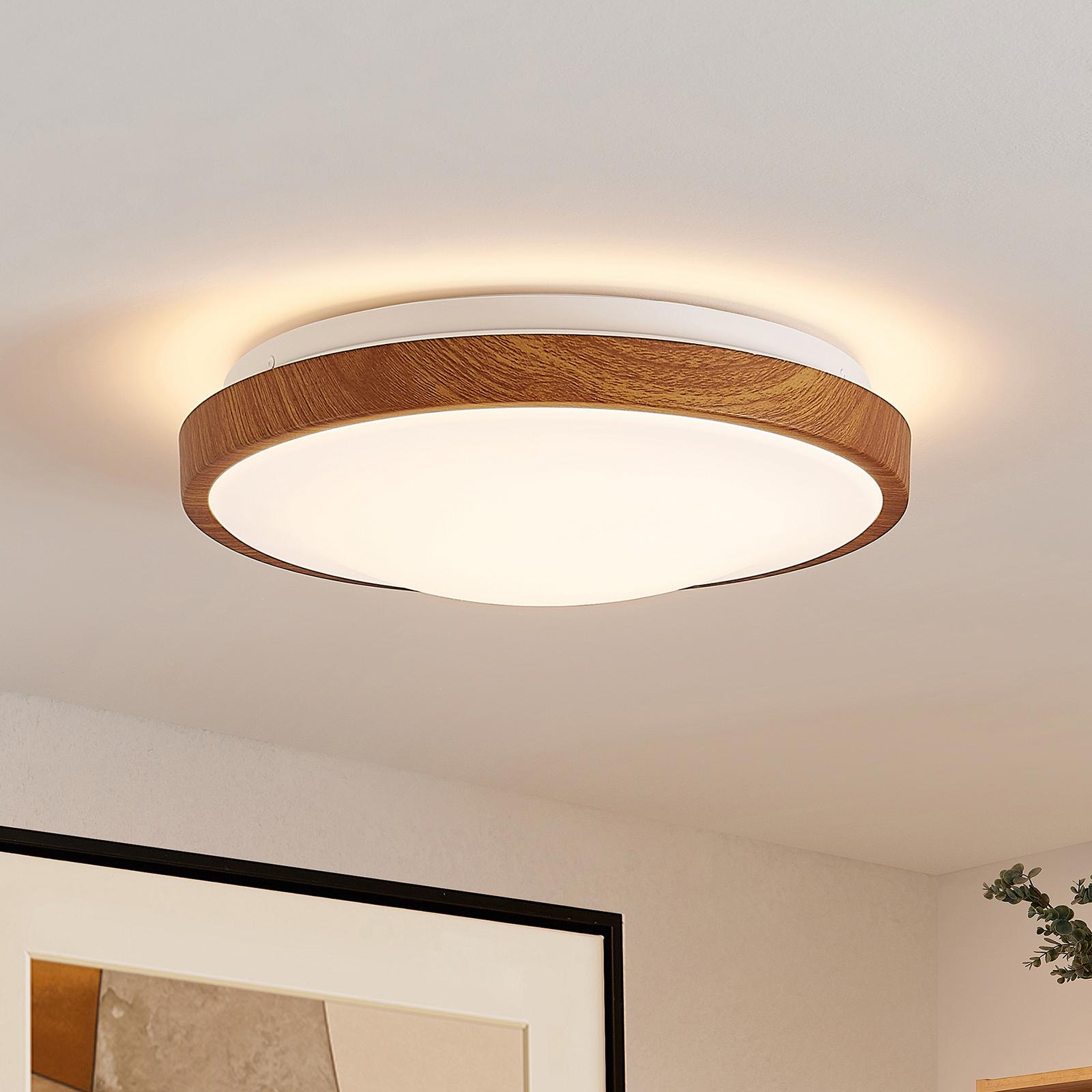 Lindby Mynte LED-loftlampe, rund, 29,5 cm