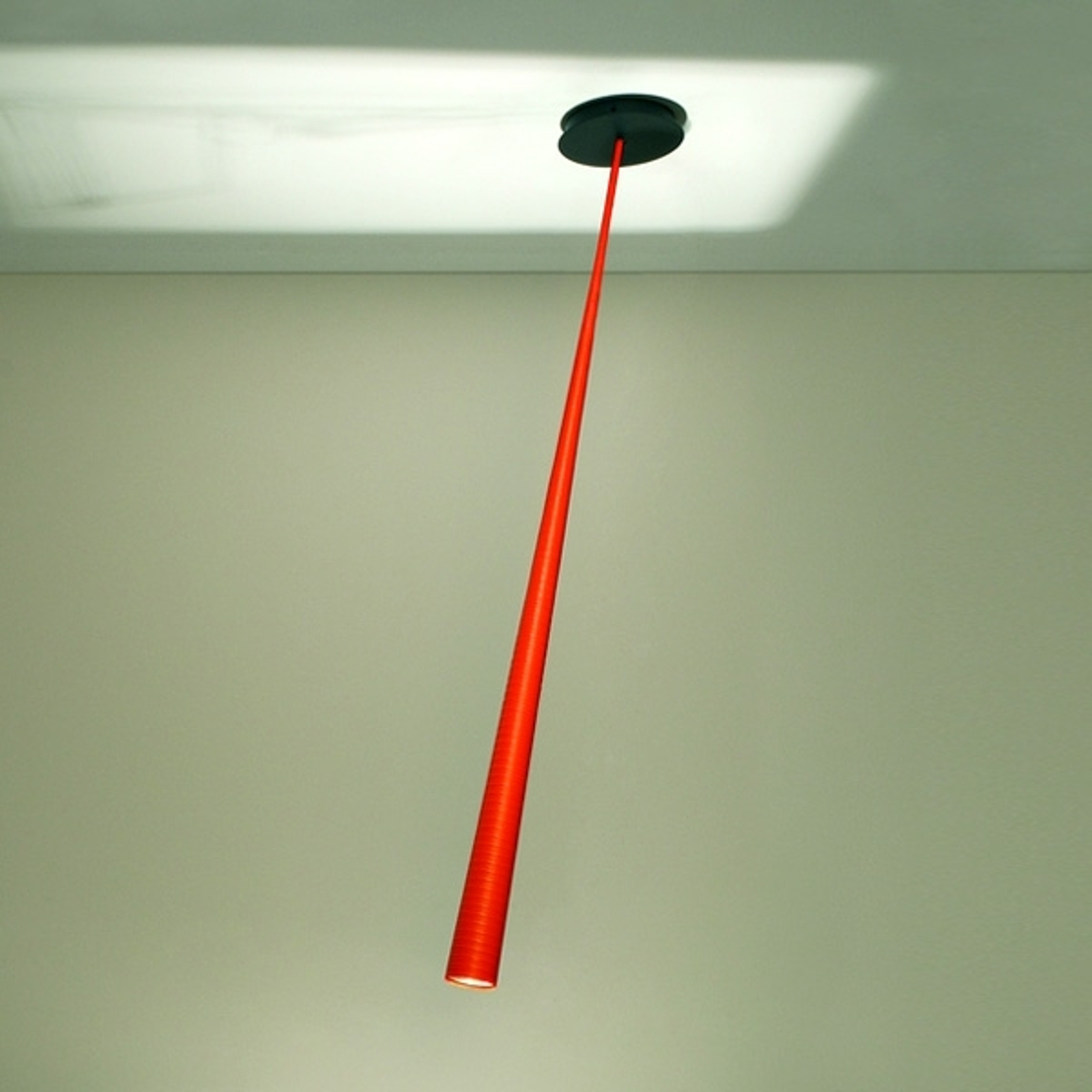Suspension de designer Drink Color orange 127 cm