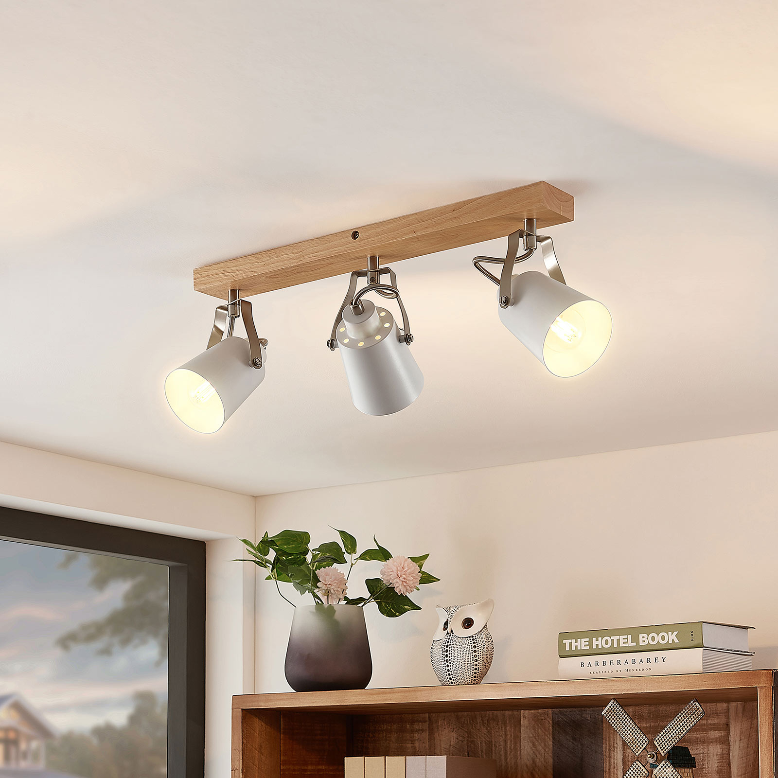 Lindby Blana taklampe, 3 lyskilder