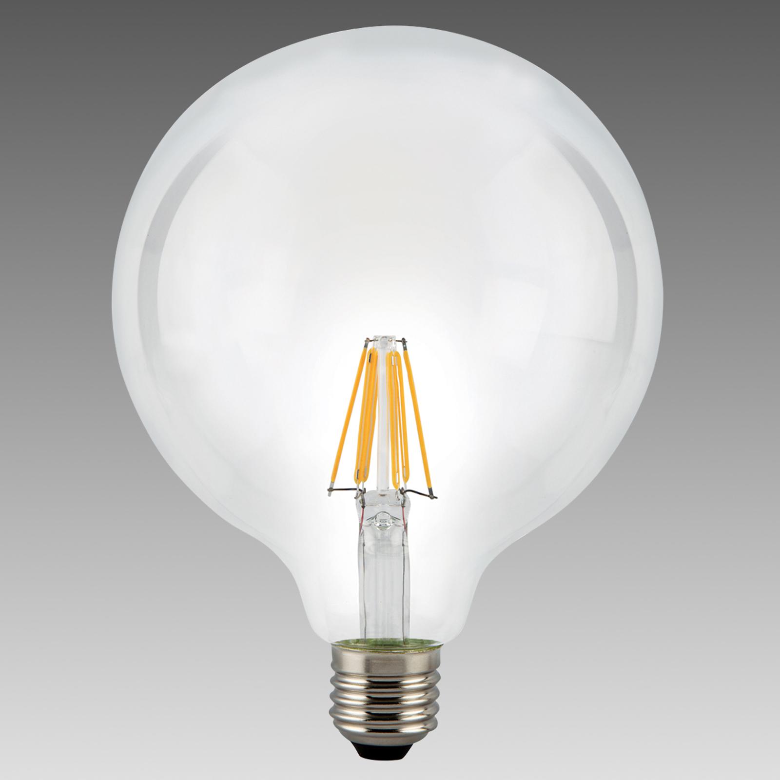E27 7,5W 827 LED globelamp helder