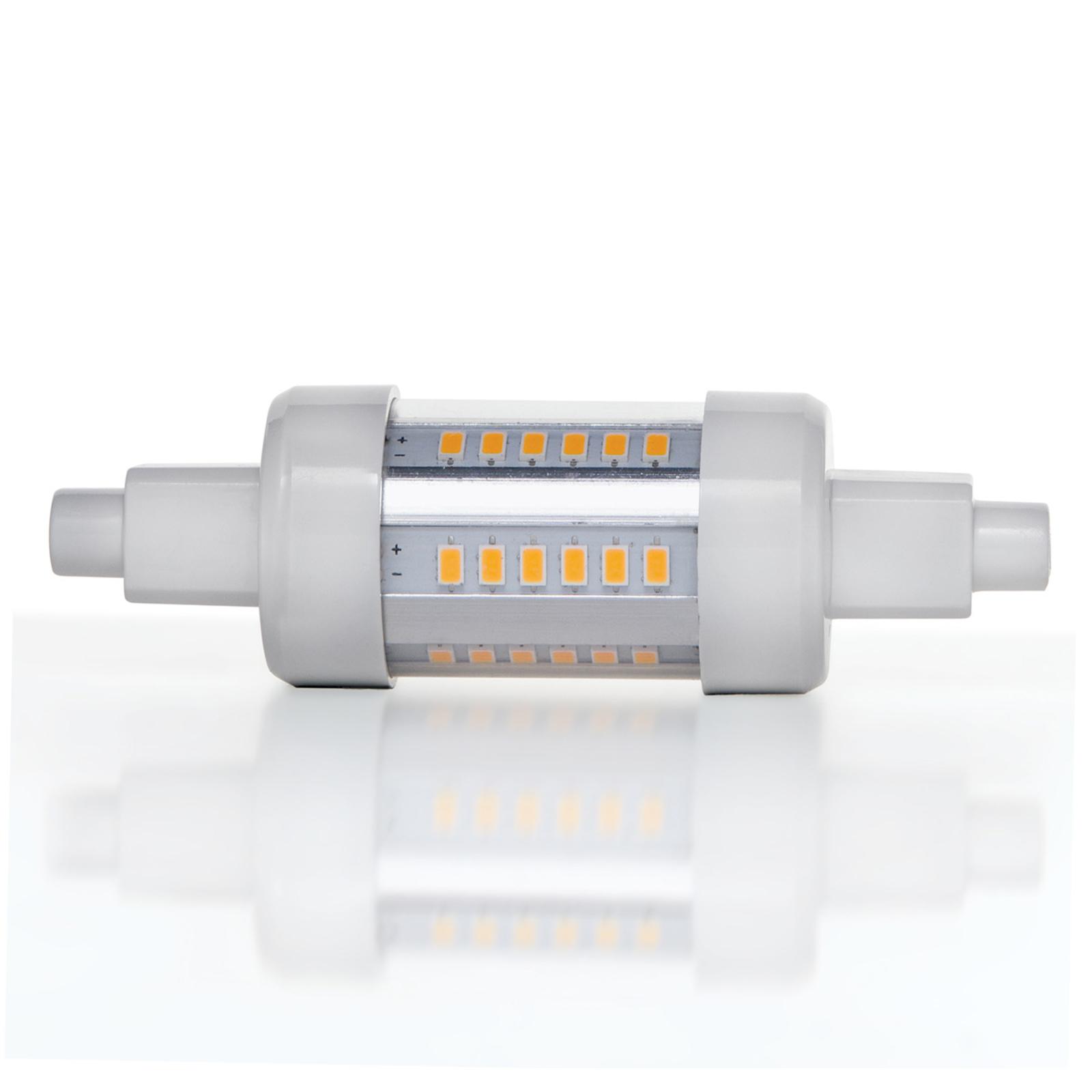 Lampadina a LED lineare R7s 5W 830