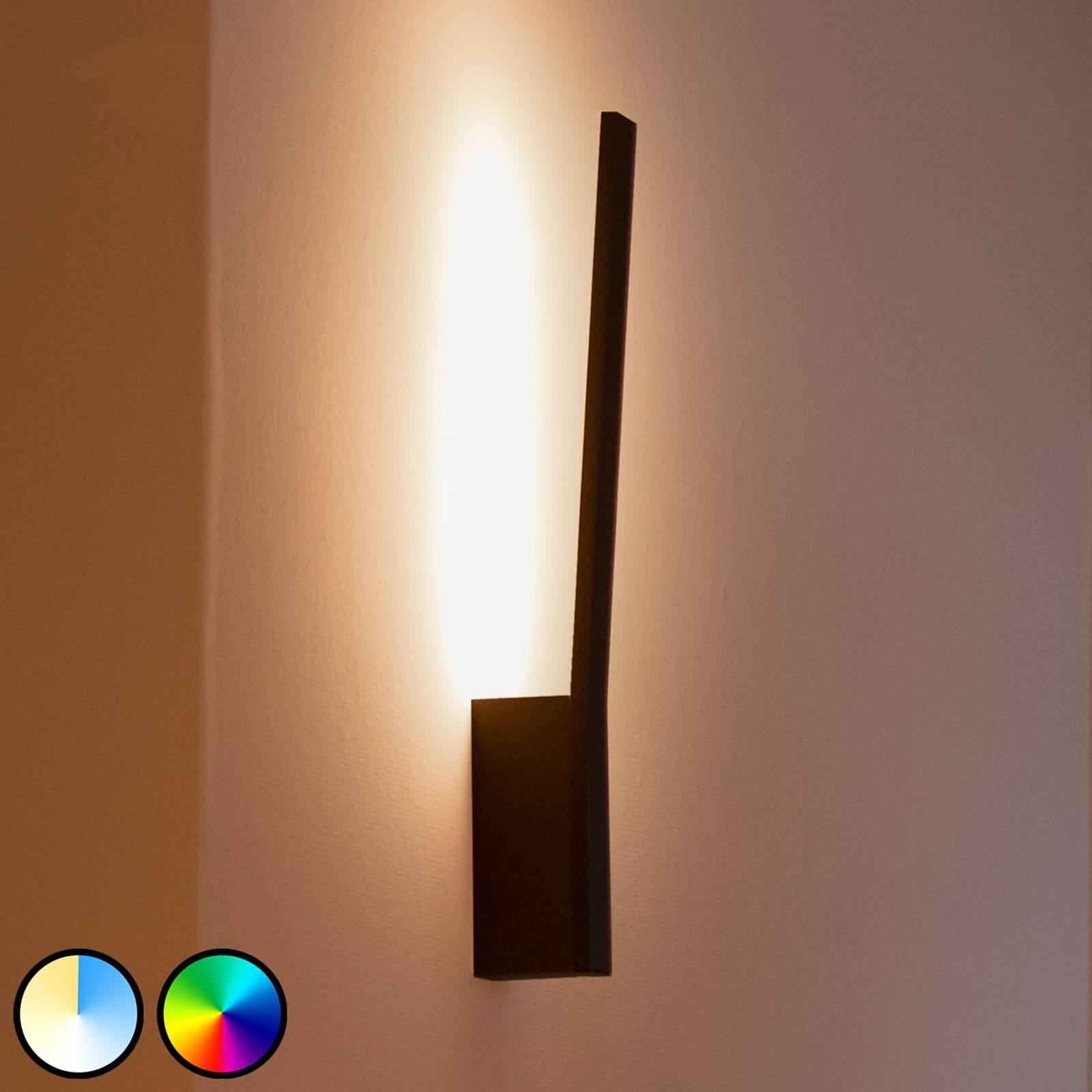 Philips Hue Liane LED wandlamp, RGBW, zwart
