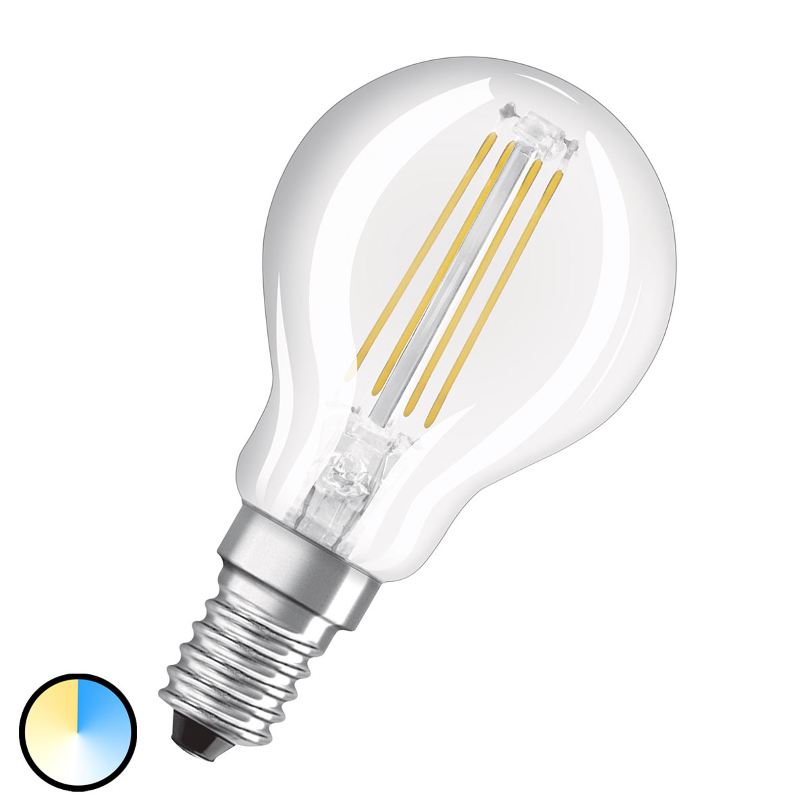 OSRAM LED-Lampe CLP E14 4W Star+ Relax&Active klar