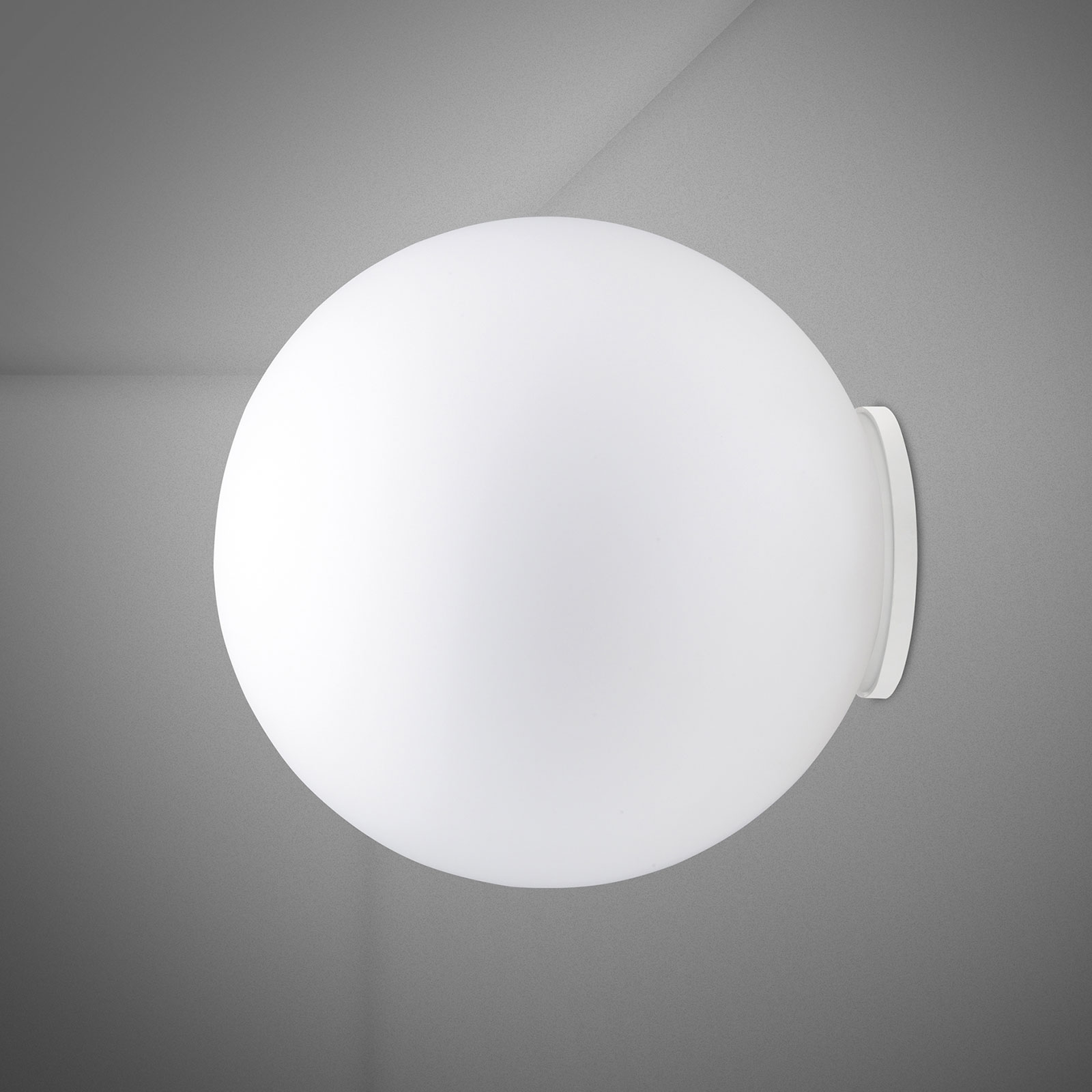 Fabbian Lumi Sfera Glas-Wandleuchte, Ø 40 cm