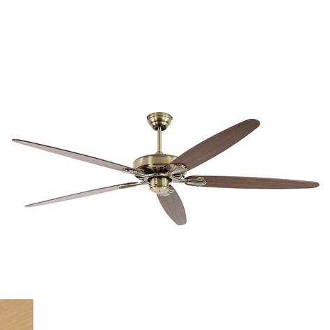 Stropní ventilátor Classic Royal 180, mosaz