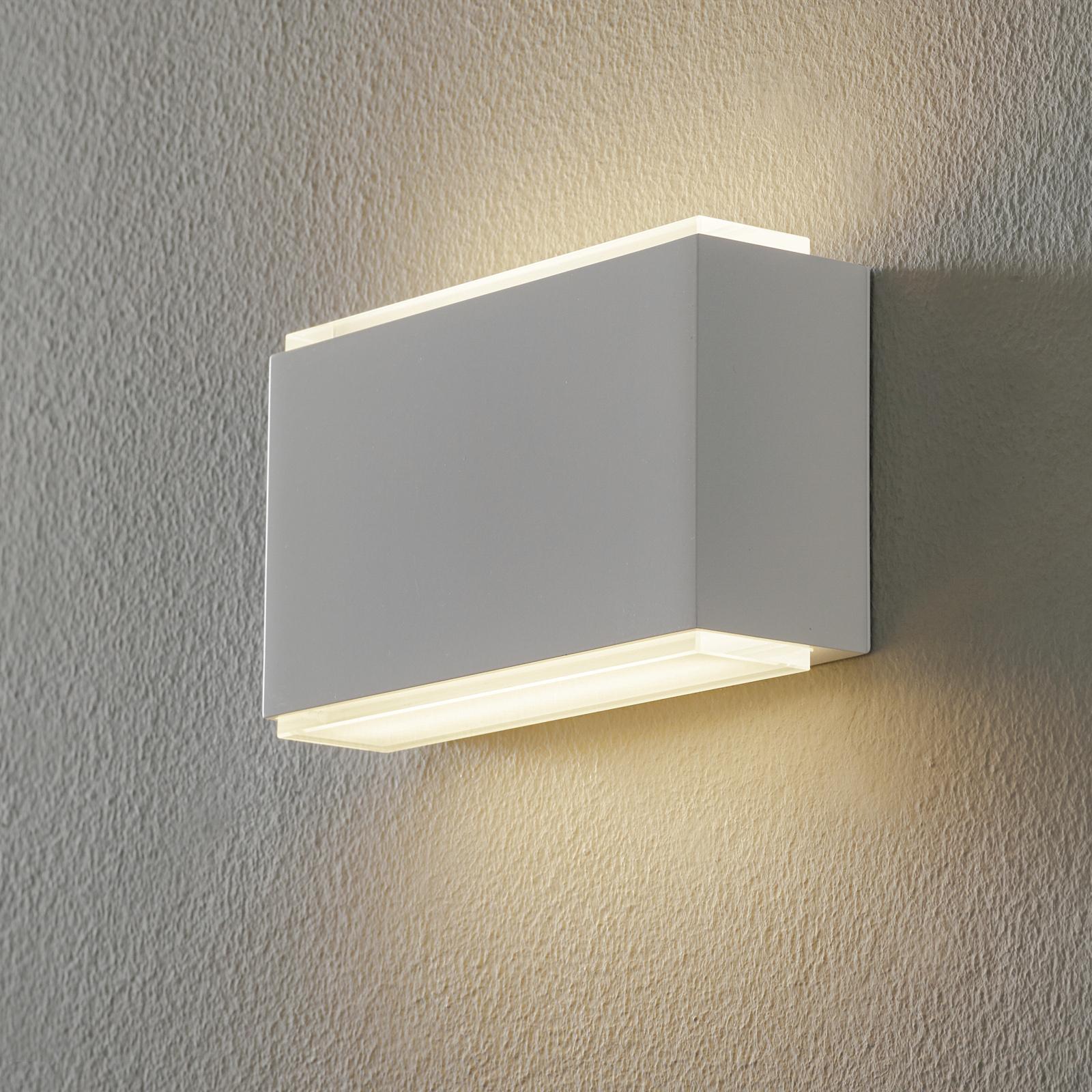 BEGA 23015 LED-Wandleuchte 3000K 18cm weiß 1.260lm