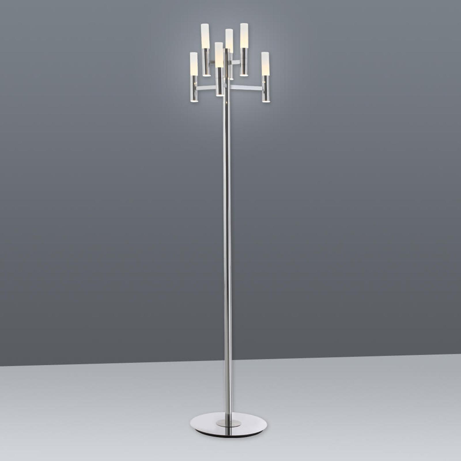 Acquista Lampada LED da terra Irina con touchdimmer 6 luci