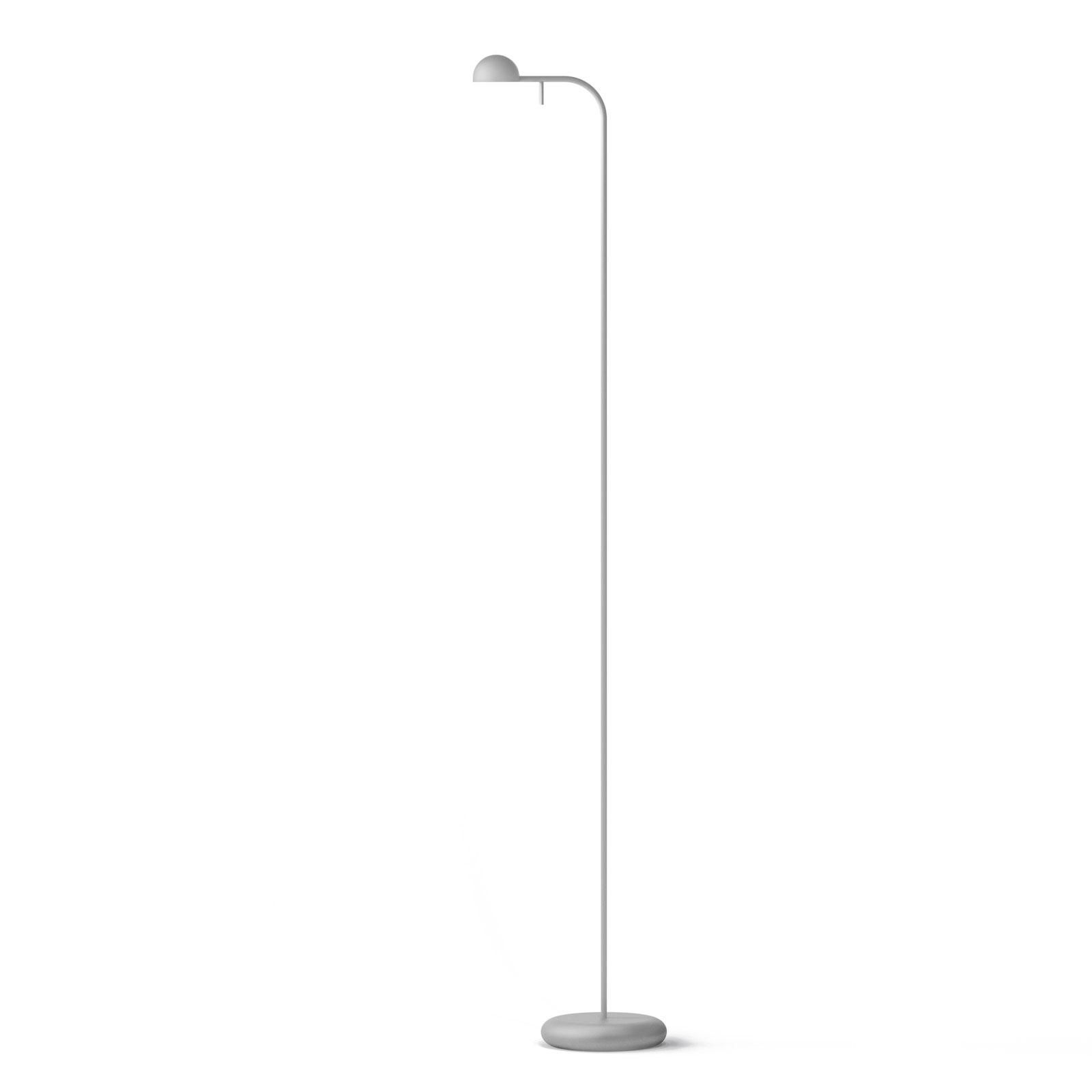 Vibia Pin 1660 lampadaire LED, 125cm, blanc