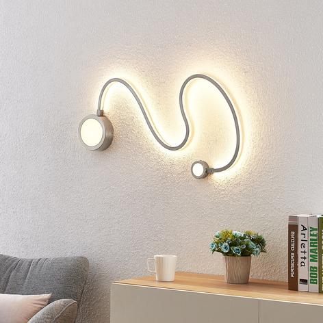 Lindby Rion applique LED, nichel