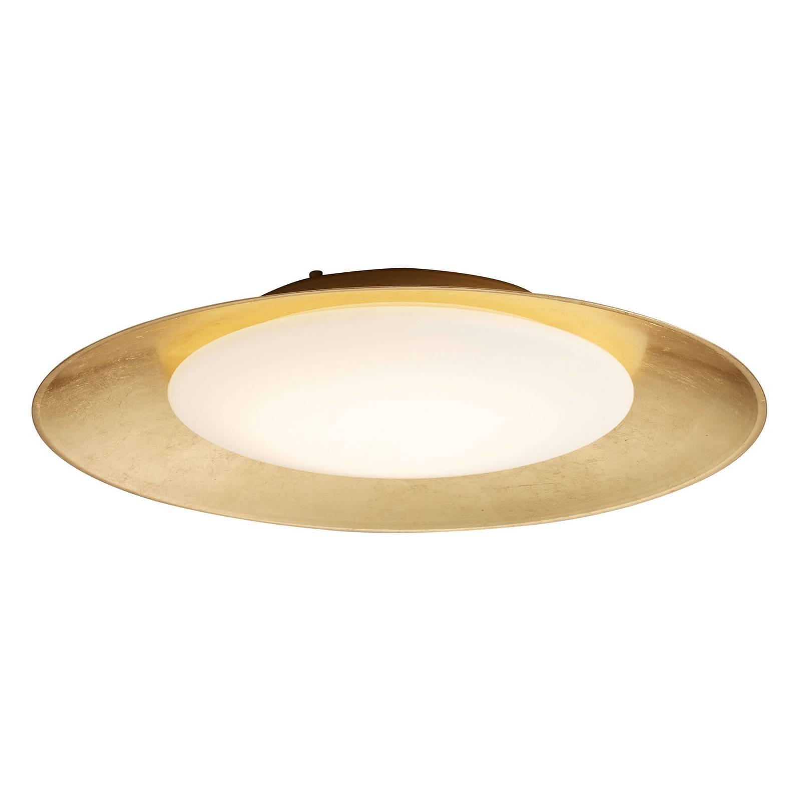 BANKAMP Cover LED-Deckenleuchte Ø41cm blattgold