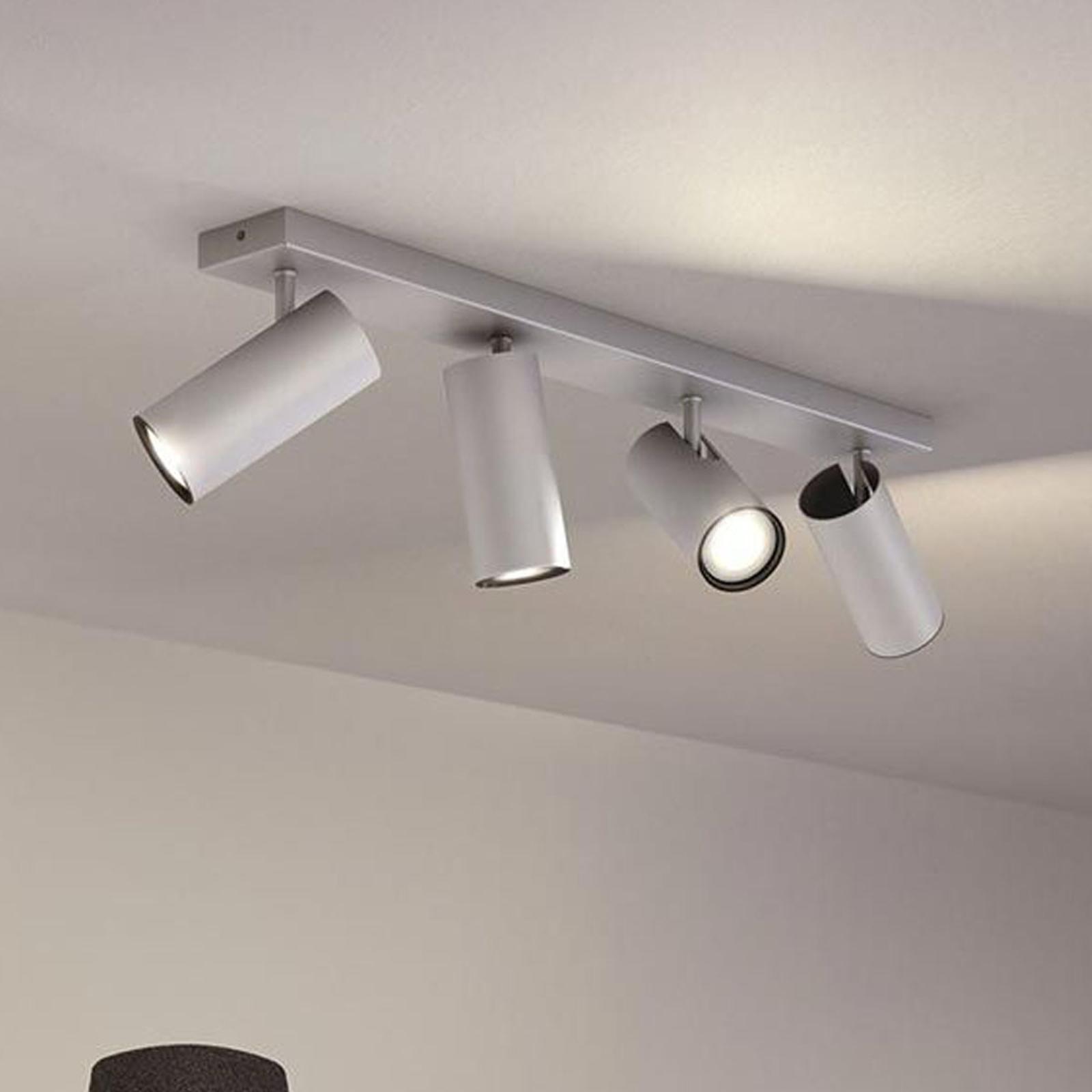 Philips Hue Buratto LED-spot alu 4 lyskilder