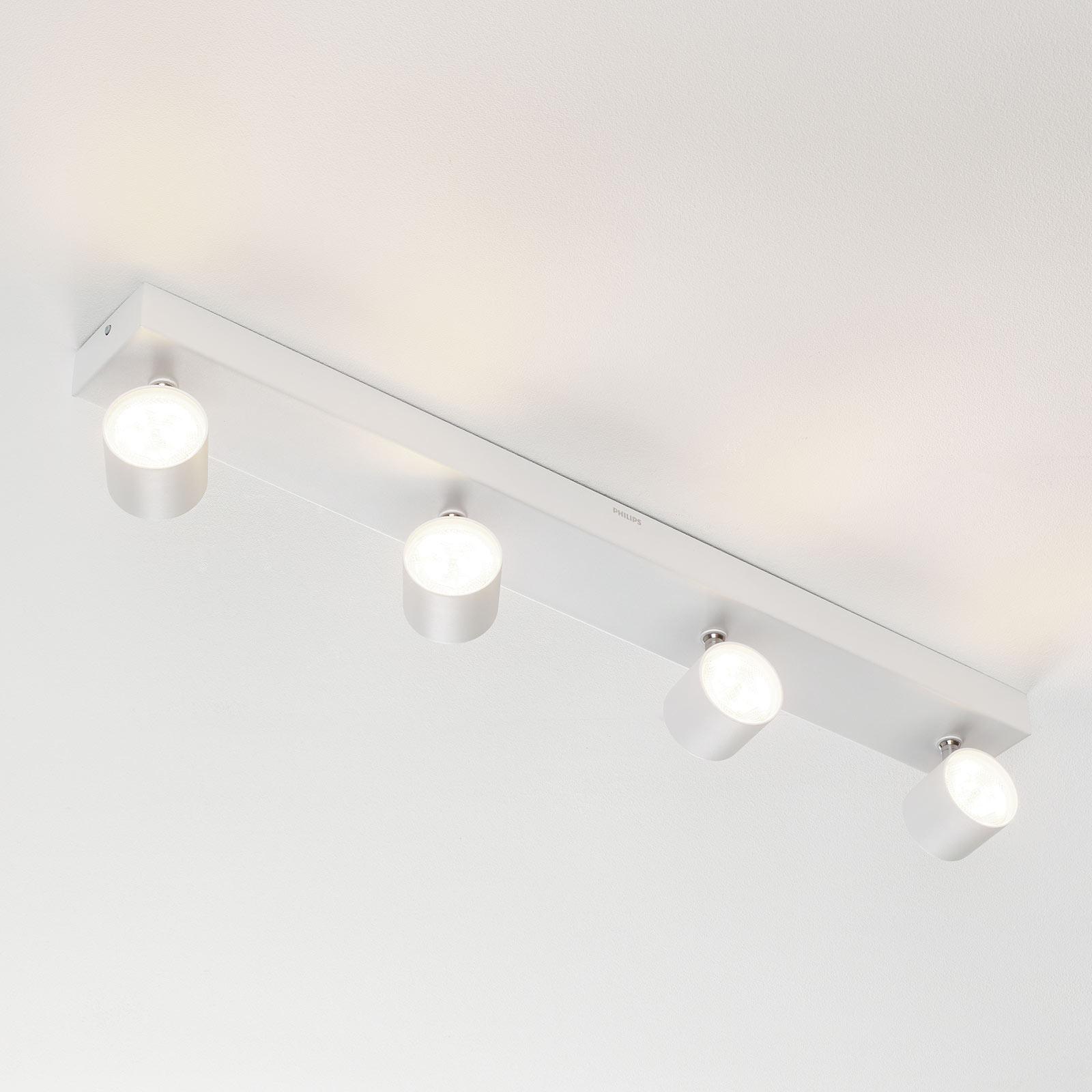 Philips Star LED-Strahler weiß 4flg. WarmGlow