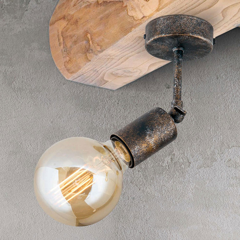 Lámpara de techo Rati móvil en óptica Vintage