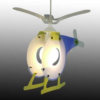 Lampada sospensione elicottero per bambini