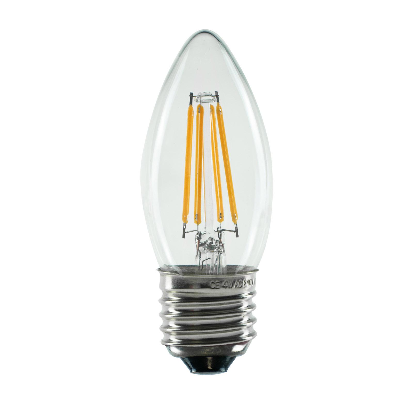 SEGULA LED-Lampe E27 4W B35 2.600K klar dimmbar
