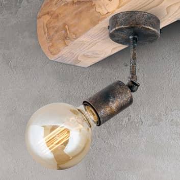 Pohyblivé stropní světlo Rati ve vzhledu Vintage