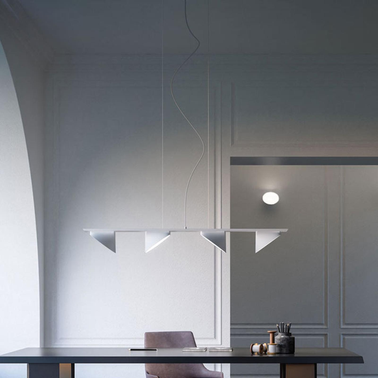 Axolight Orchid lampa wisząca LED 4-pkt. biała