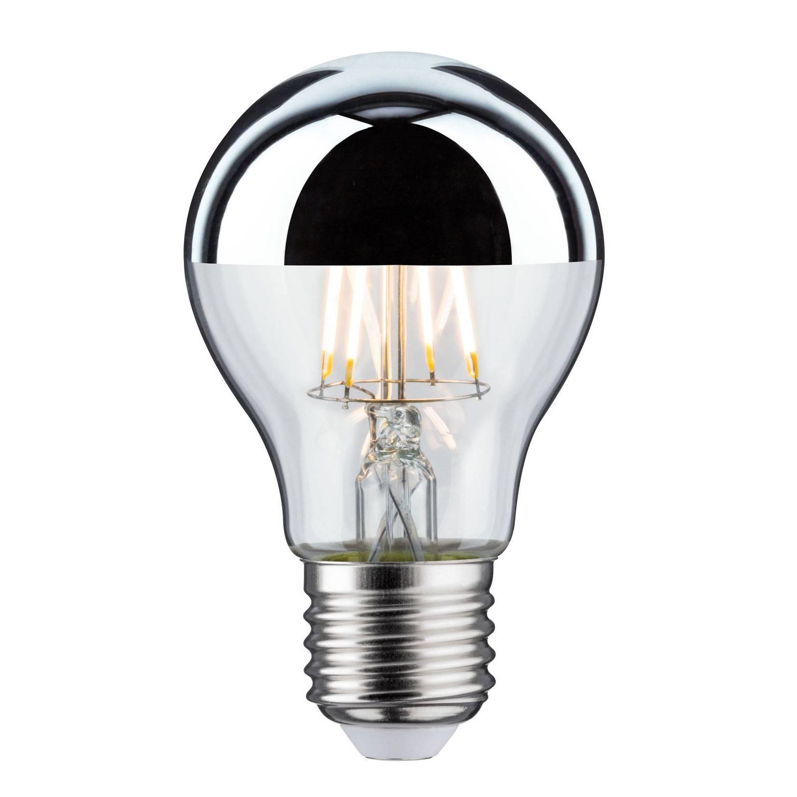 Lampadina LED E27 goccia 827 dicroica 6,5W