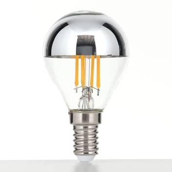 LED žárovka E14 4W teplá bílá, stmívatelná