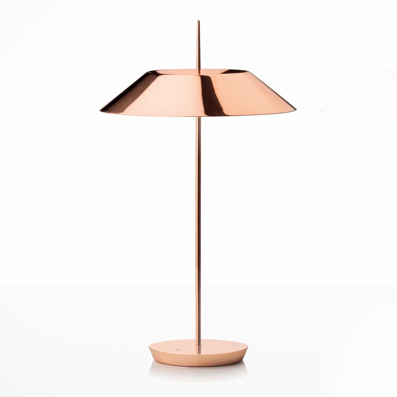 Vibia Mayfair LED-Tischlampe, kupfer glänzend