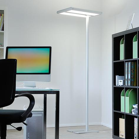 Piantana LED office Quirin, alluminio, 110W 4.000K
