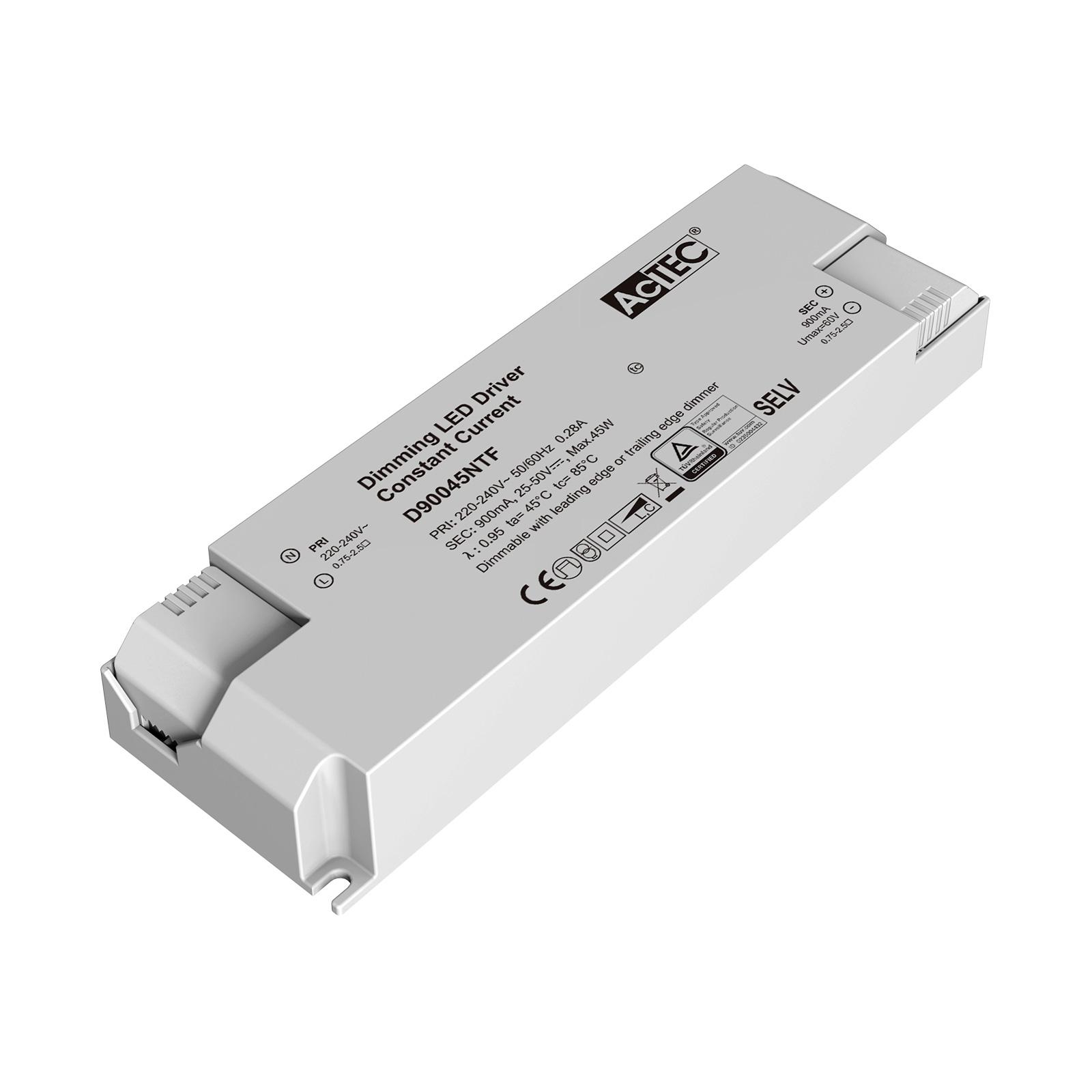 AcTEC Triac LED-driver CC maks. 45W 900mA