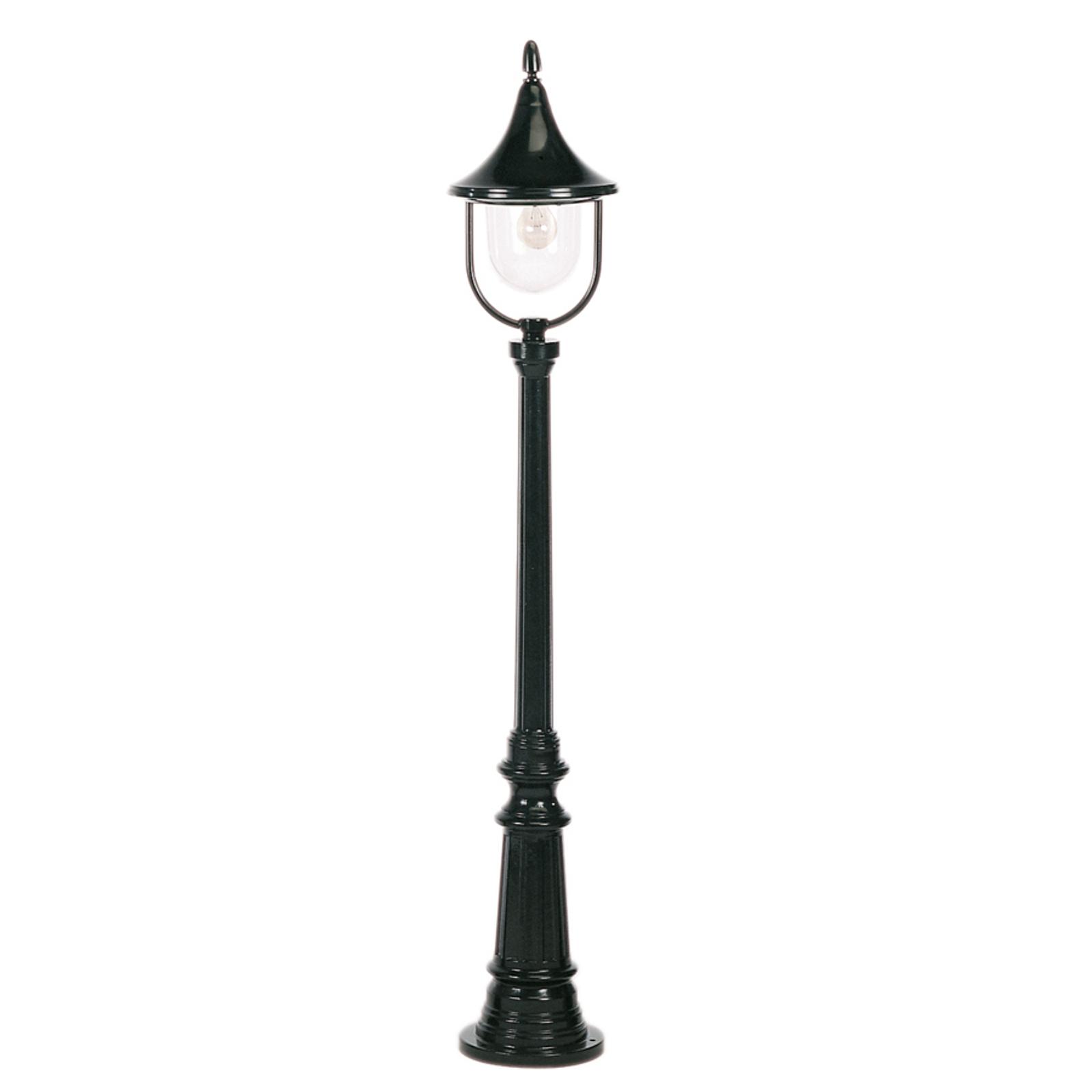 Piękna latarnia Brescia 148 cm czarna