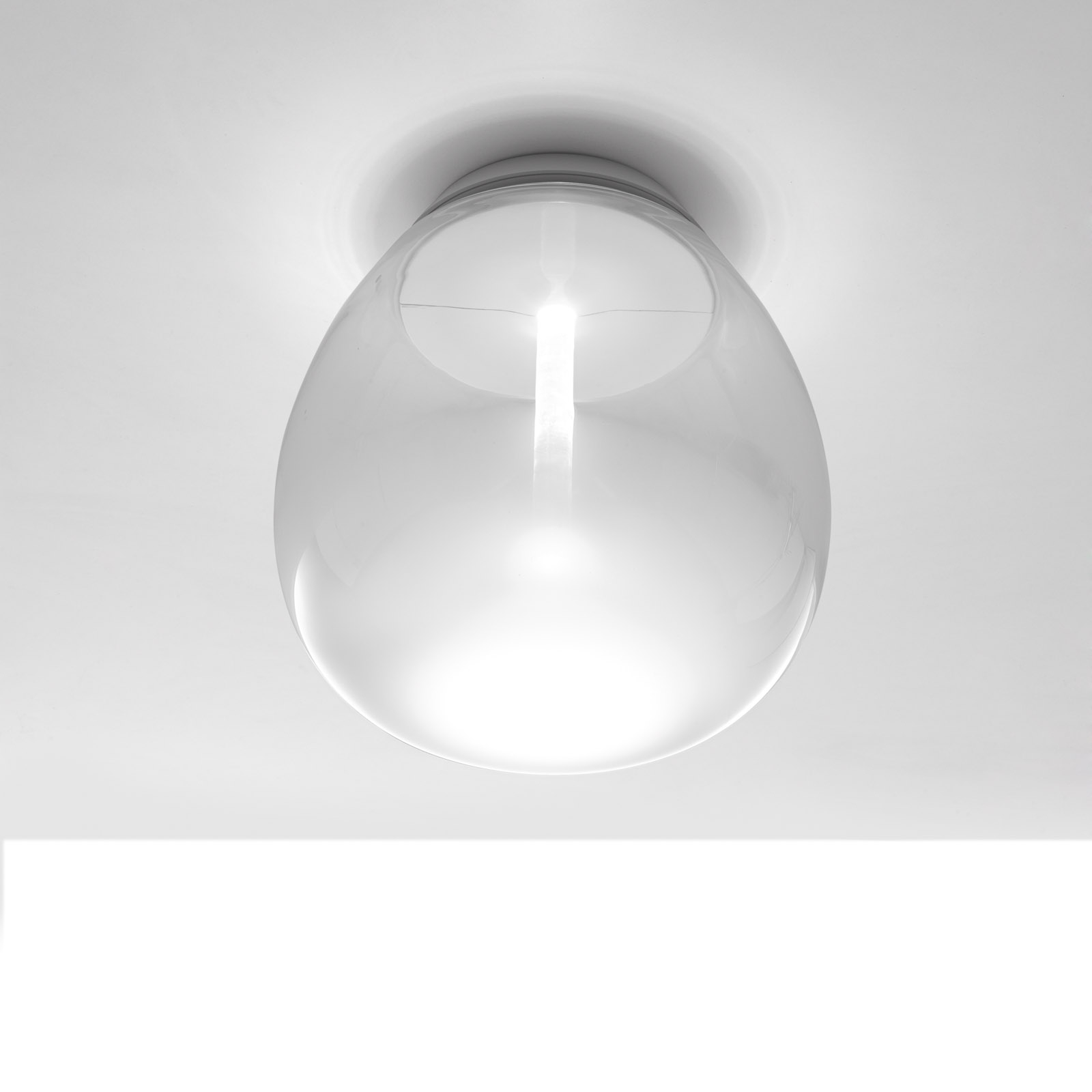 Artemide Empatia LED-taklampe, Ø 16 cm