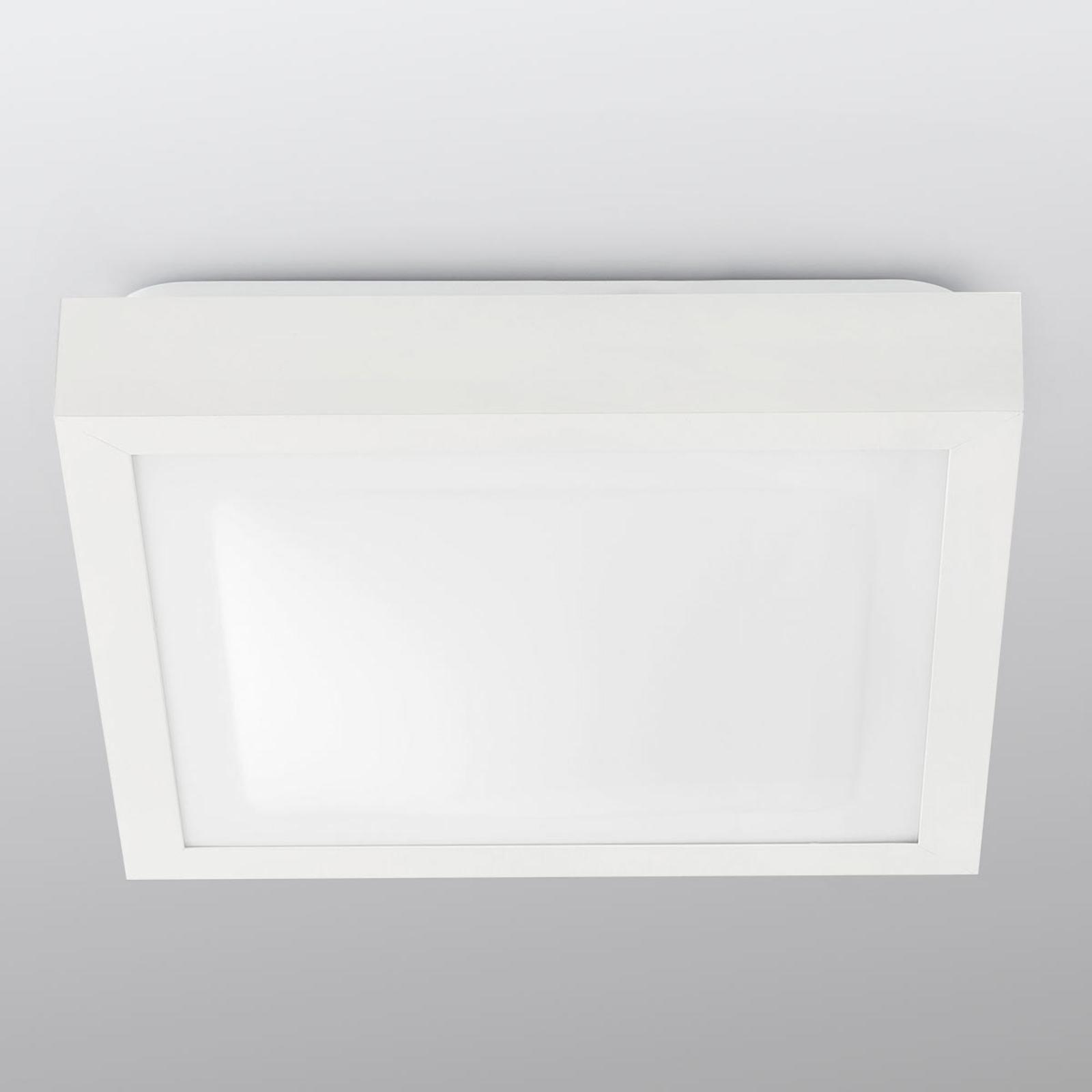 Badkamer plafondlamp Tola in hoekige vorm