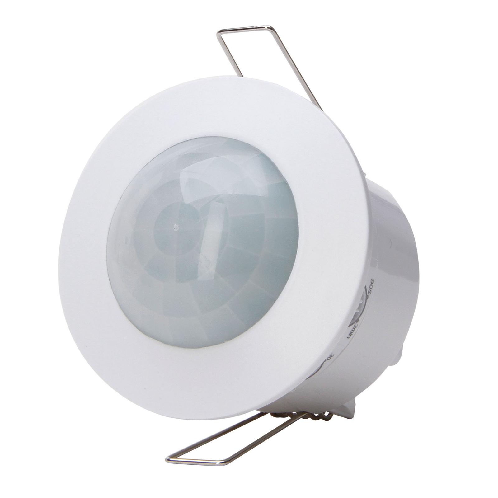Bevegelsessensor 360° skjult hvit IP20