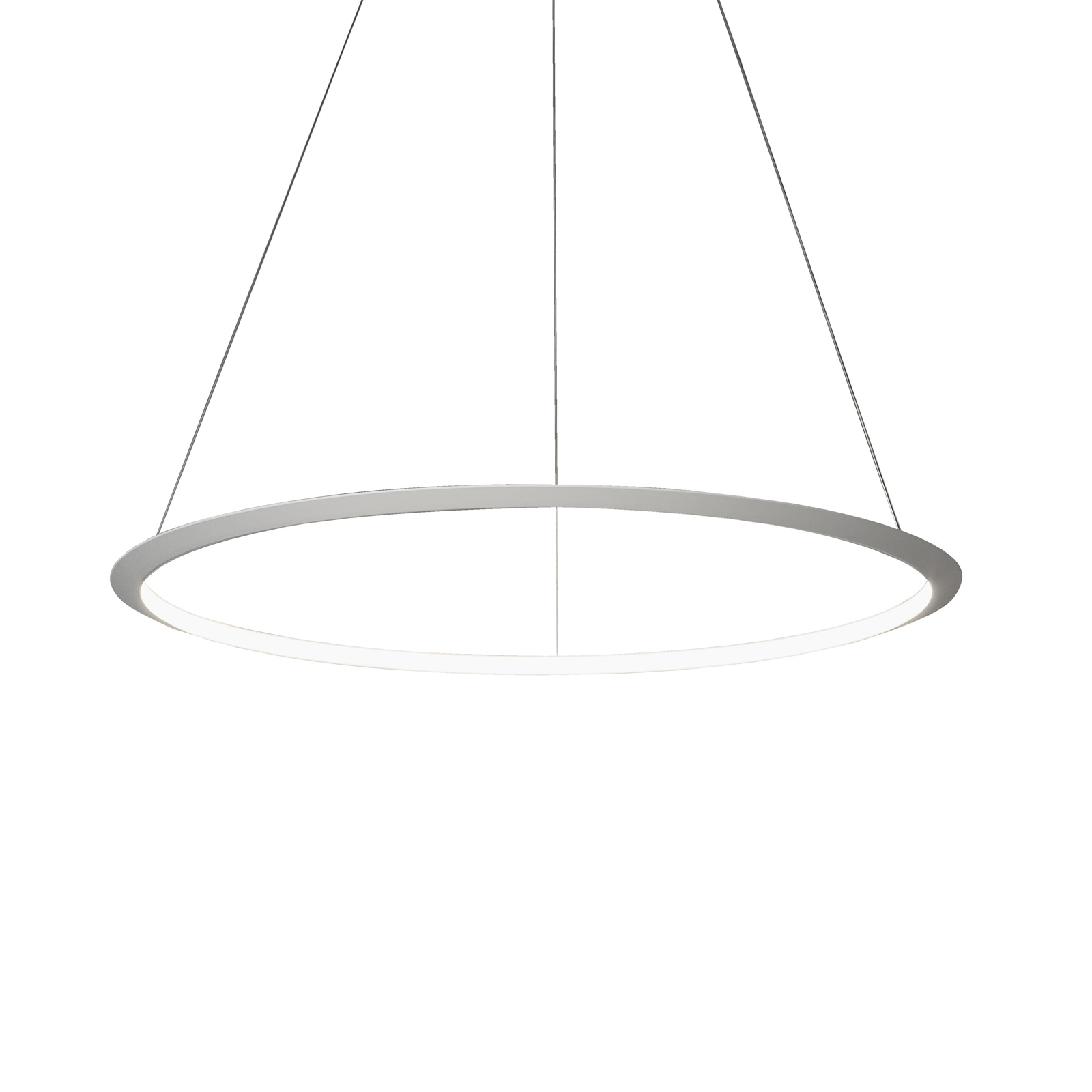 Grok Circular suspension LED, Ø 200 cm