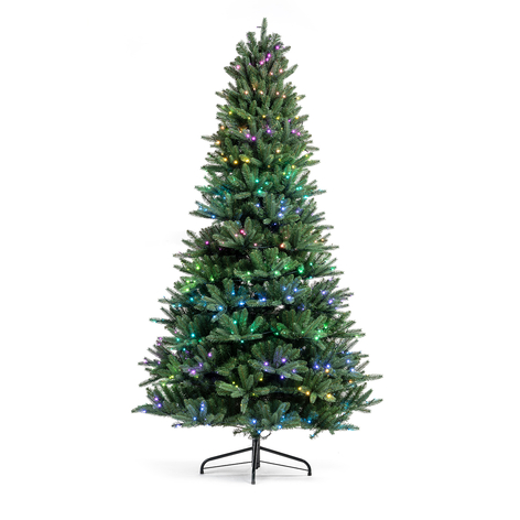 Albero con luci LED Twinkly RGBW