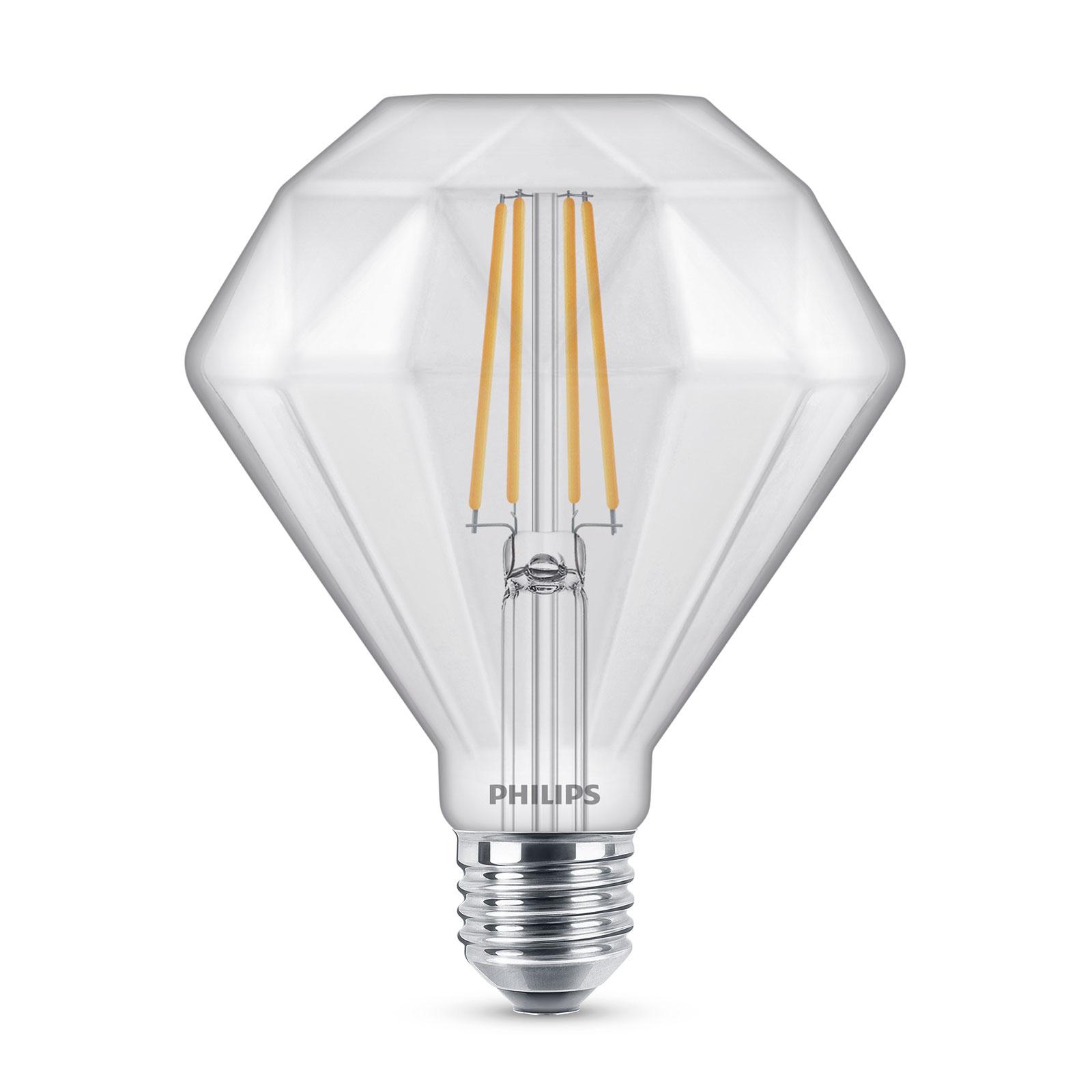 Philips Classic Diamond LED-Lampe E27 5W