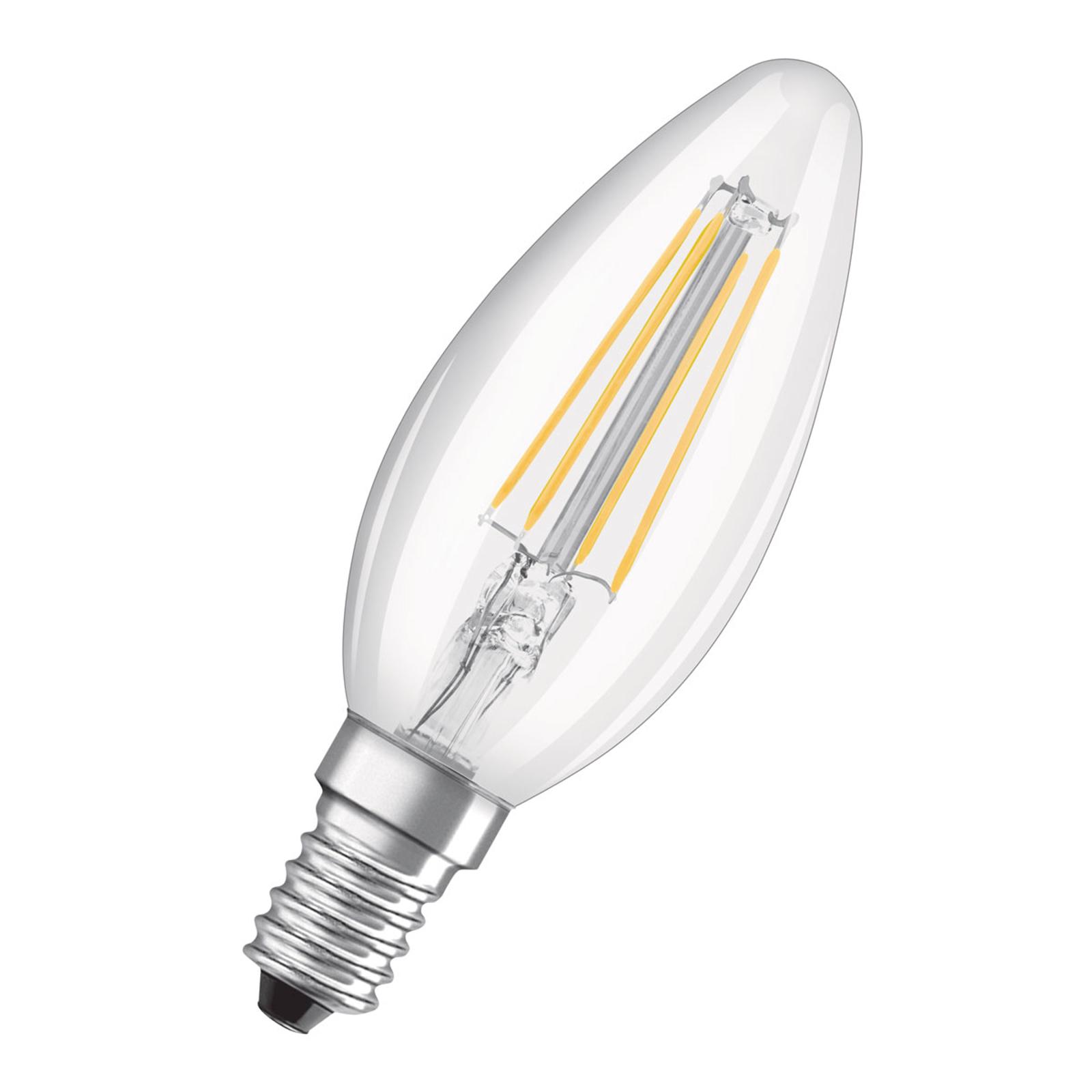 OSRAM LED-Kerzenlampe E14 5W universalweiß klar