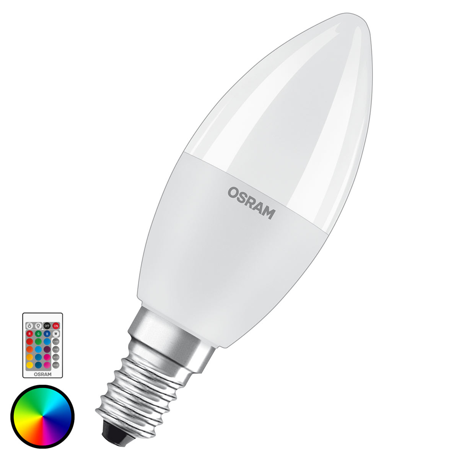 OSRAM LED-pære E14 5,5 W Star+ mignon remote matt