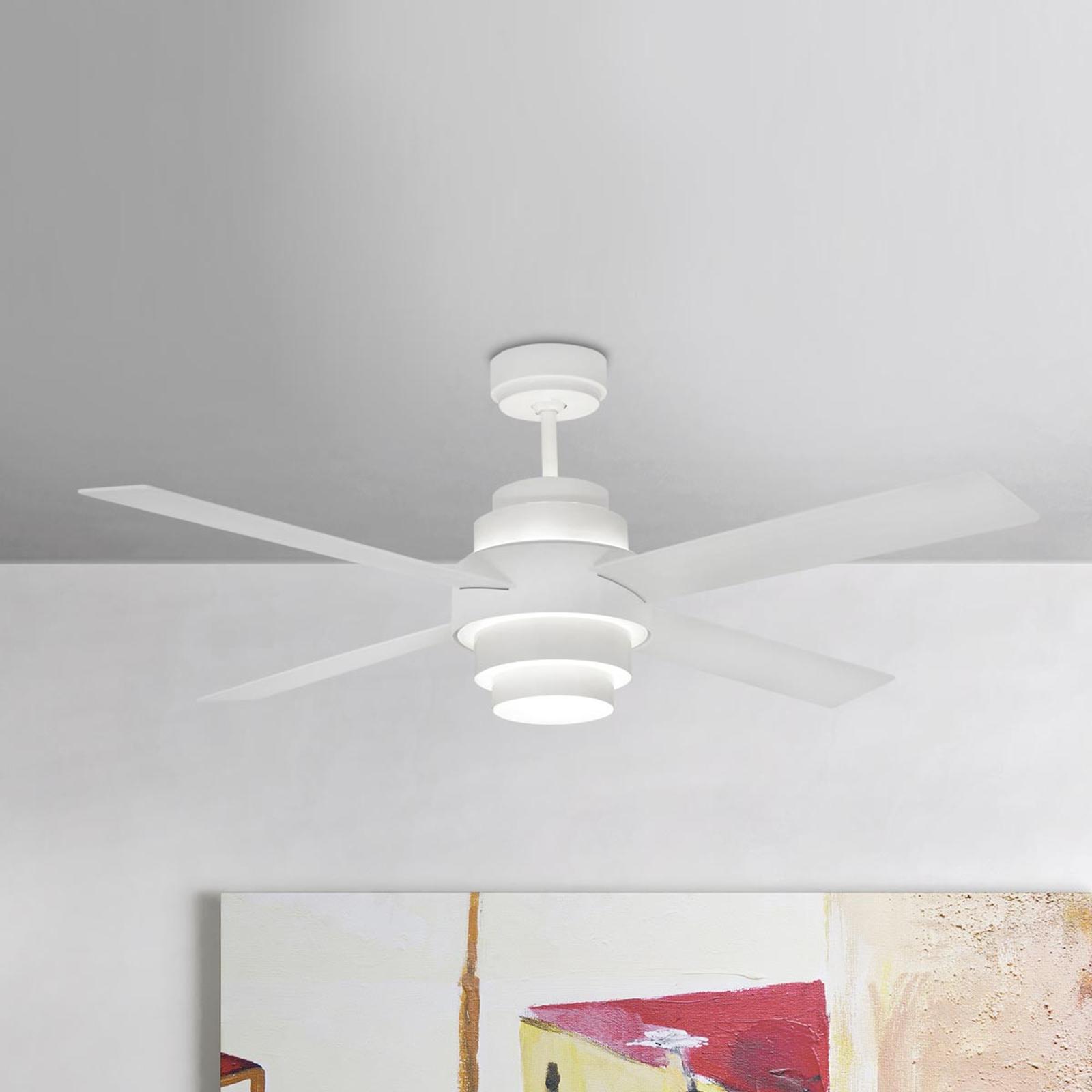 Ventilateur de plafond efficace Disc avec LED