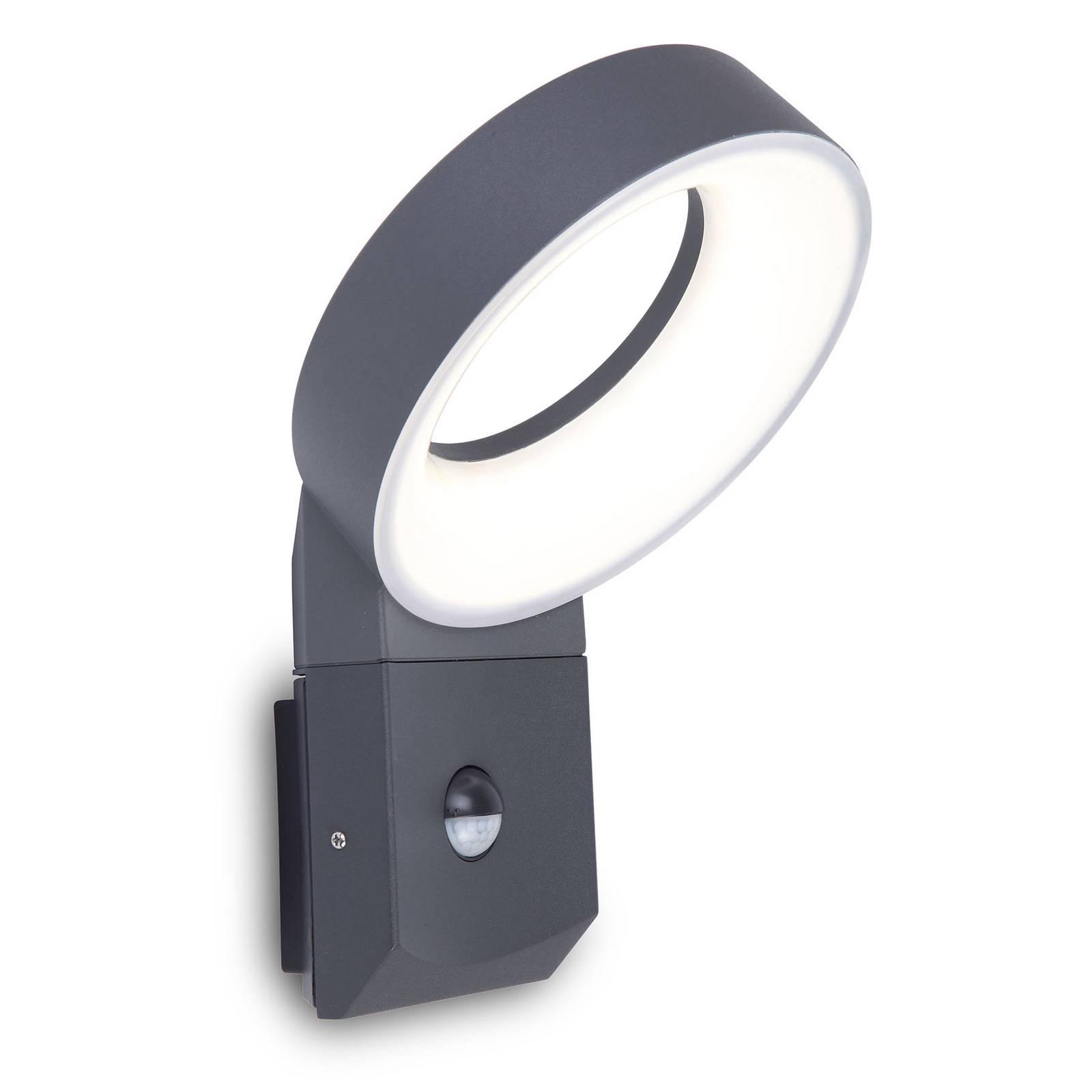 LED-Außenwandleuchte Meridian mit Bewegungssensor