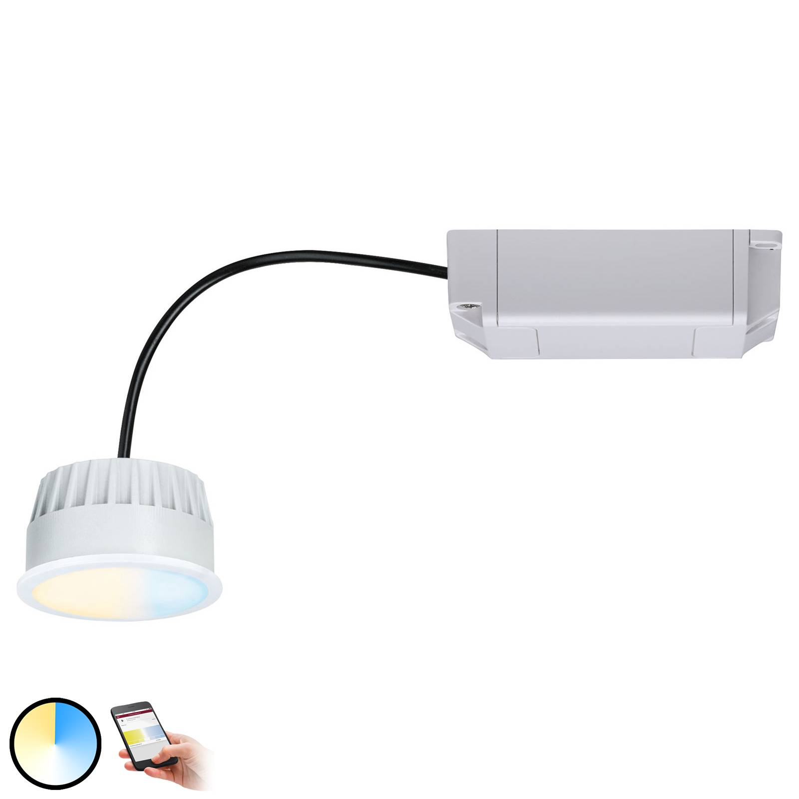 Paulmann Smart Friends ZigBee LED-Modul Coin, CCT