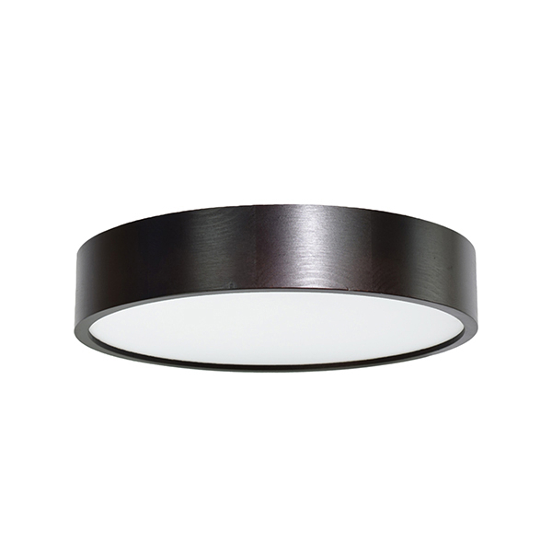 Lampa sufitowa LED Cleo, Ø 38cm, czarna