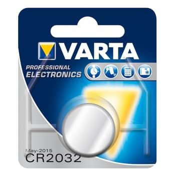 VARTA lithium-knapbatteri CR2032 3V 220 mAh