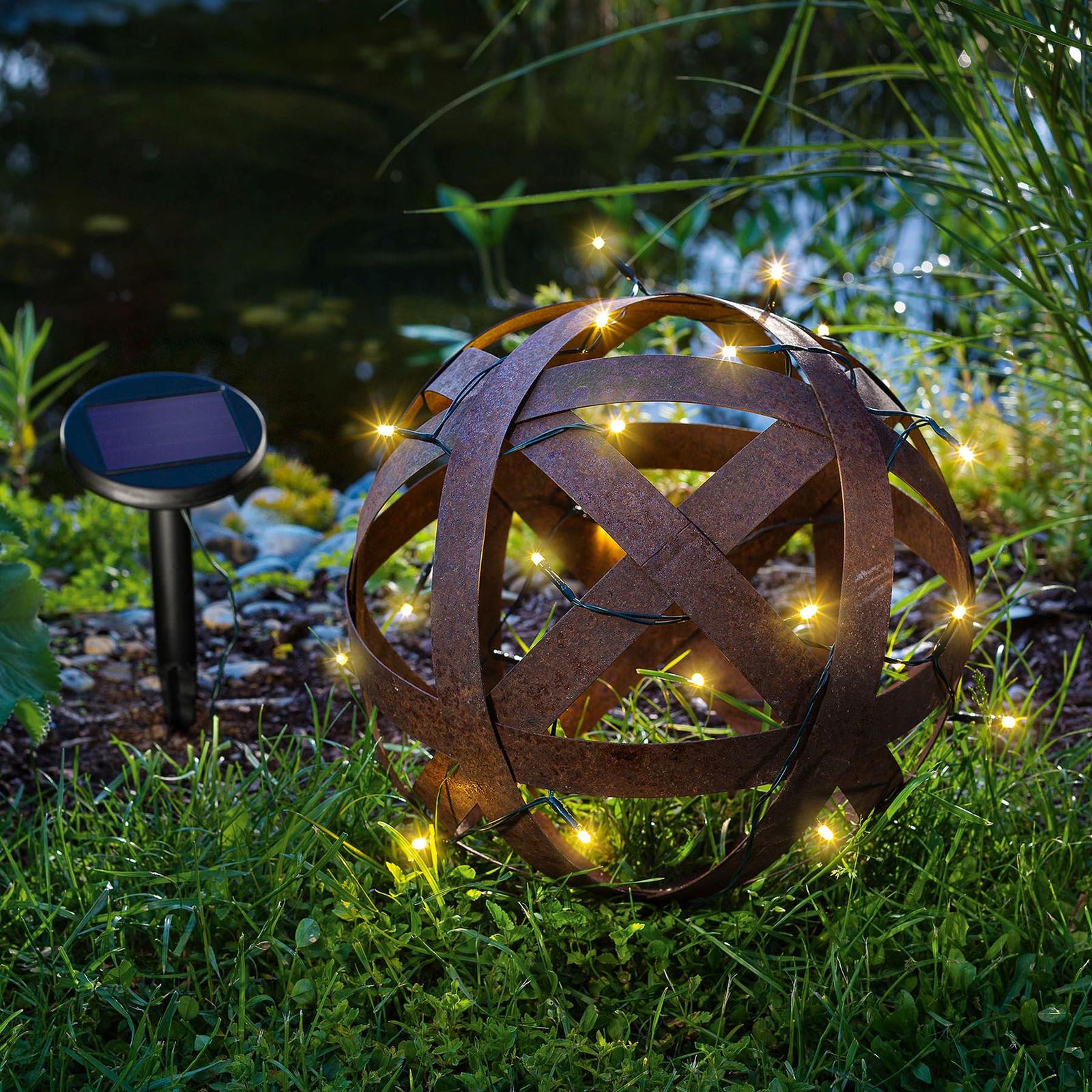 LED-Solar-Lichterkette Premium mit 24 LEDs