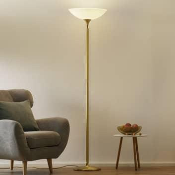 BANKAMP Opera lampada da terra LED dimmer, ottone