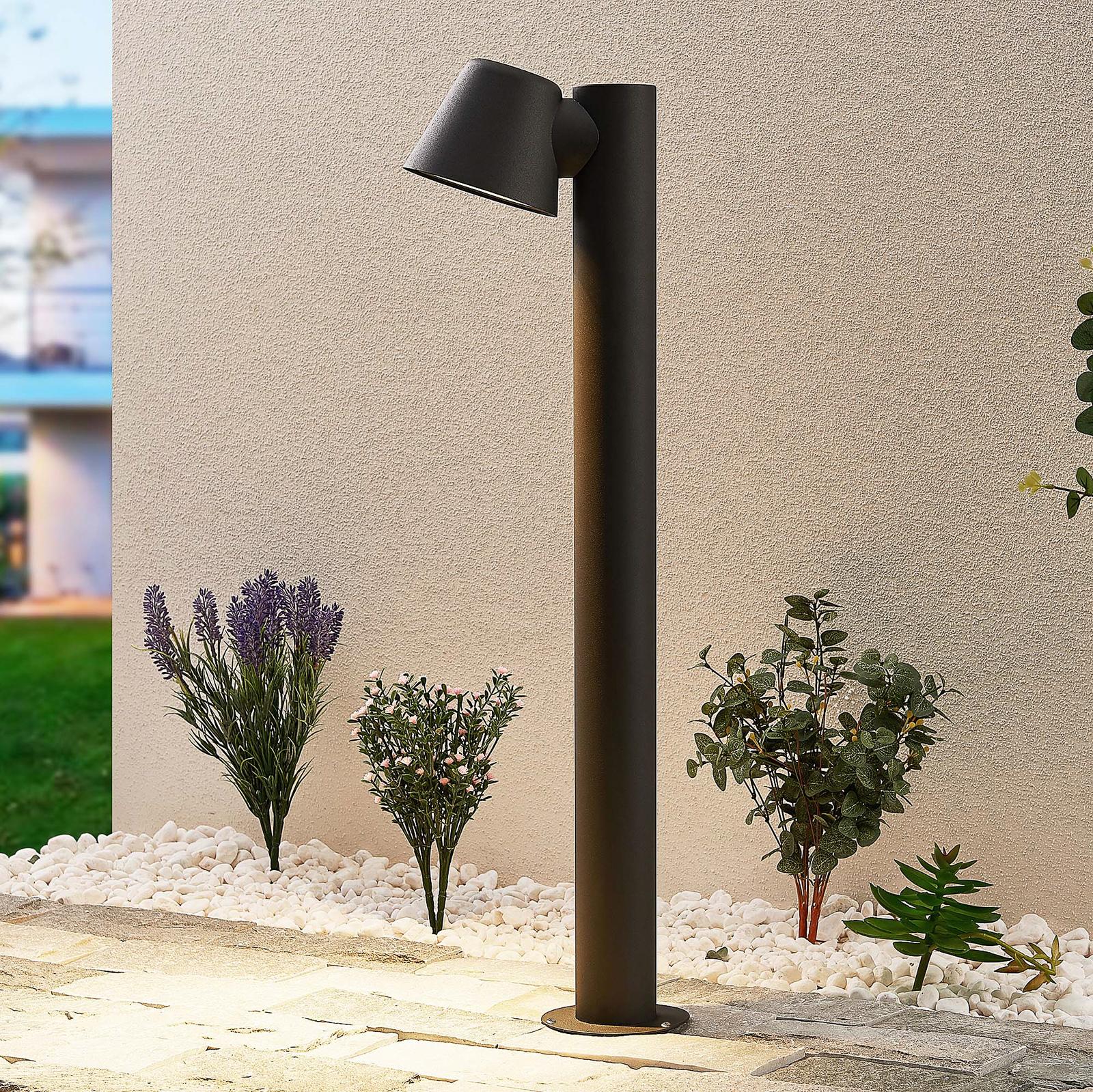 Lindby Ileyna -pollarilamppu, musta