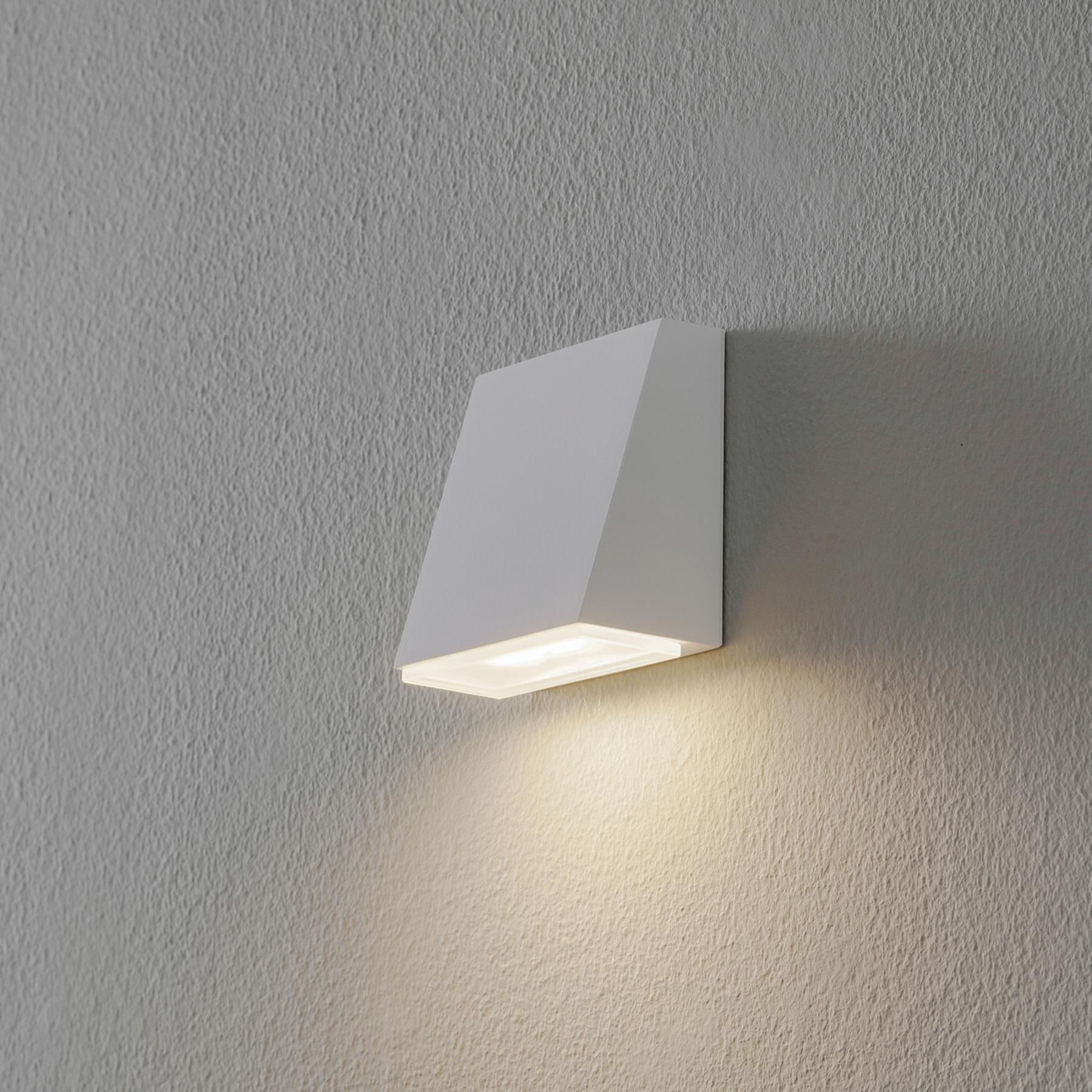 BEGA 78047 wandlamp trapeze 3.000K 9cm wit 255lm
